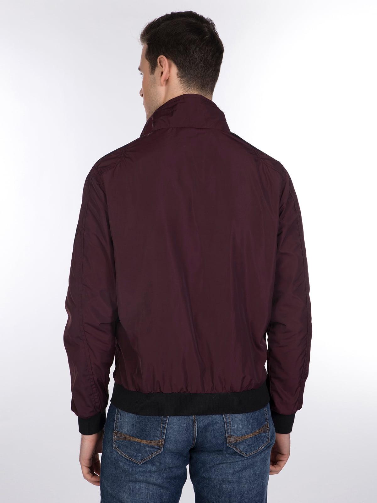 Куртка бордовая | 3989649 | фото 5
