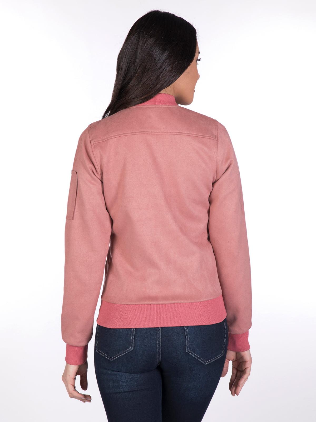 Бомбер розовый | 4183974 | фото 4