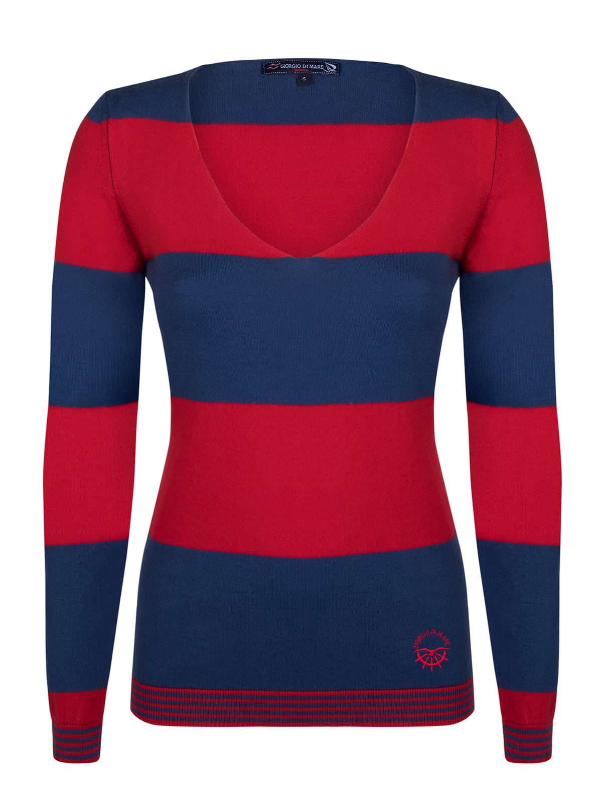 Пуловер в смужку | 4261967