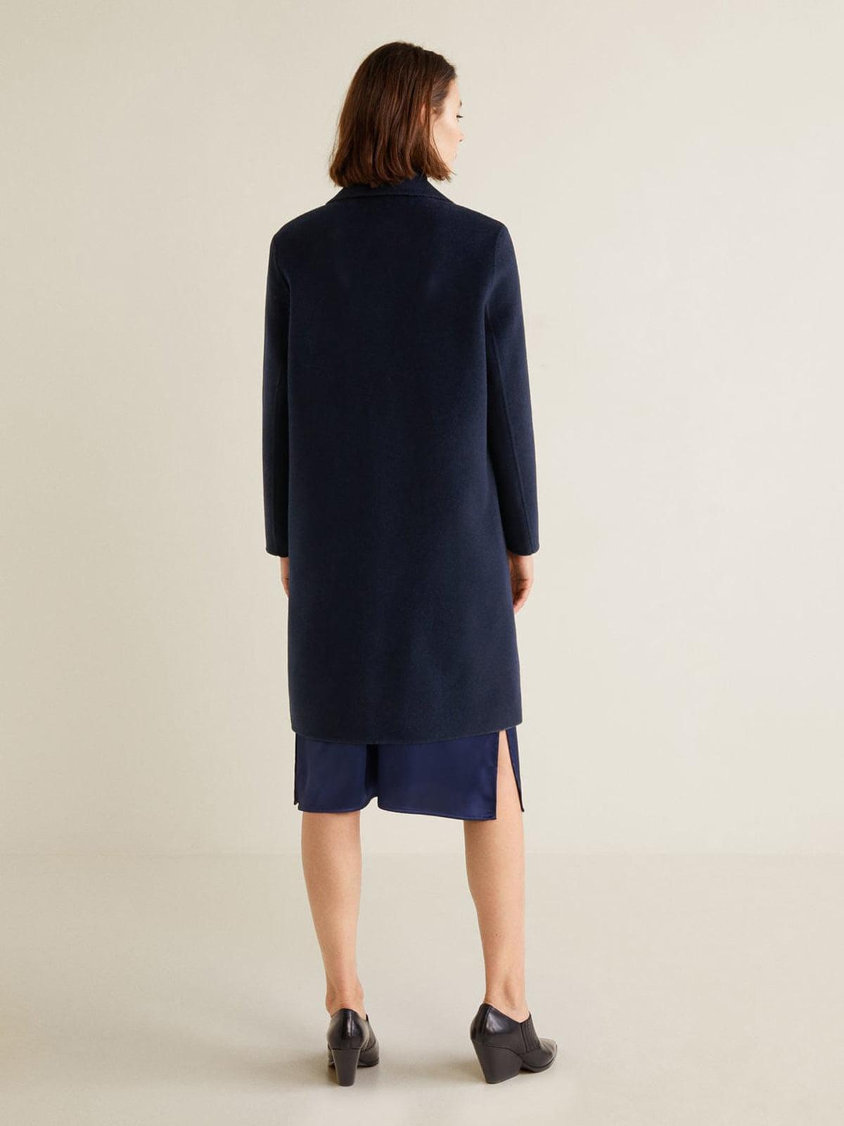 Пальто синее | 4489369 | фото 2