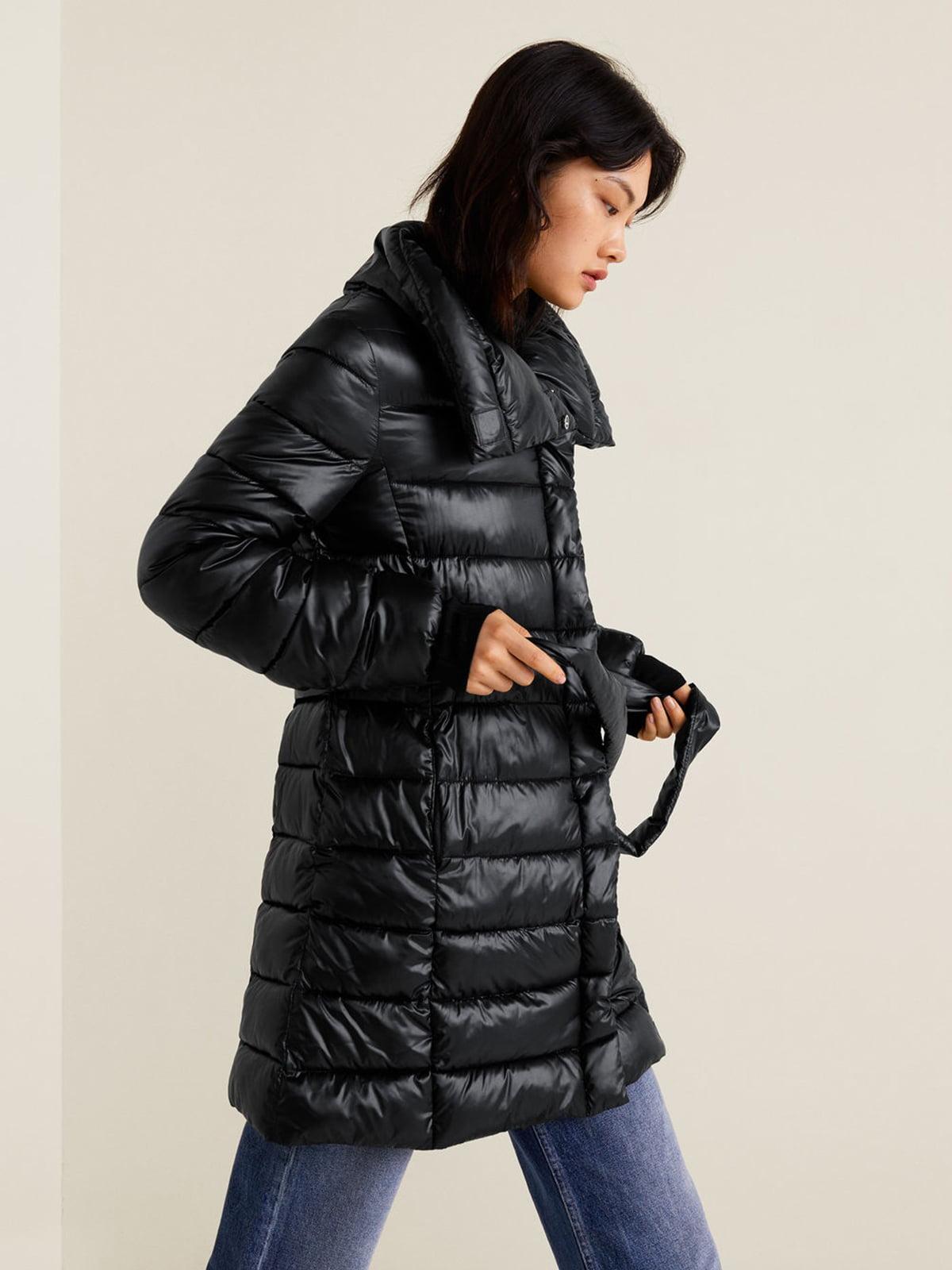 Куртка черная | 4489390 | фото 3