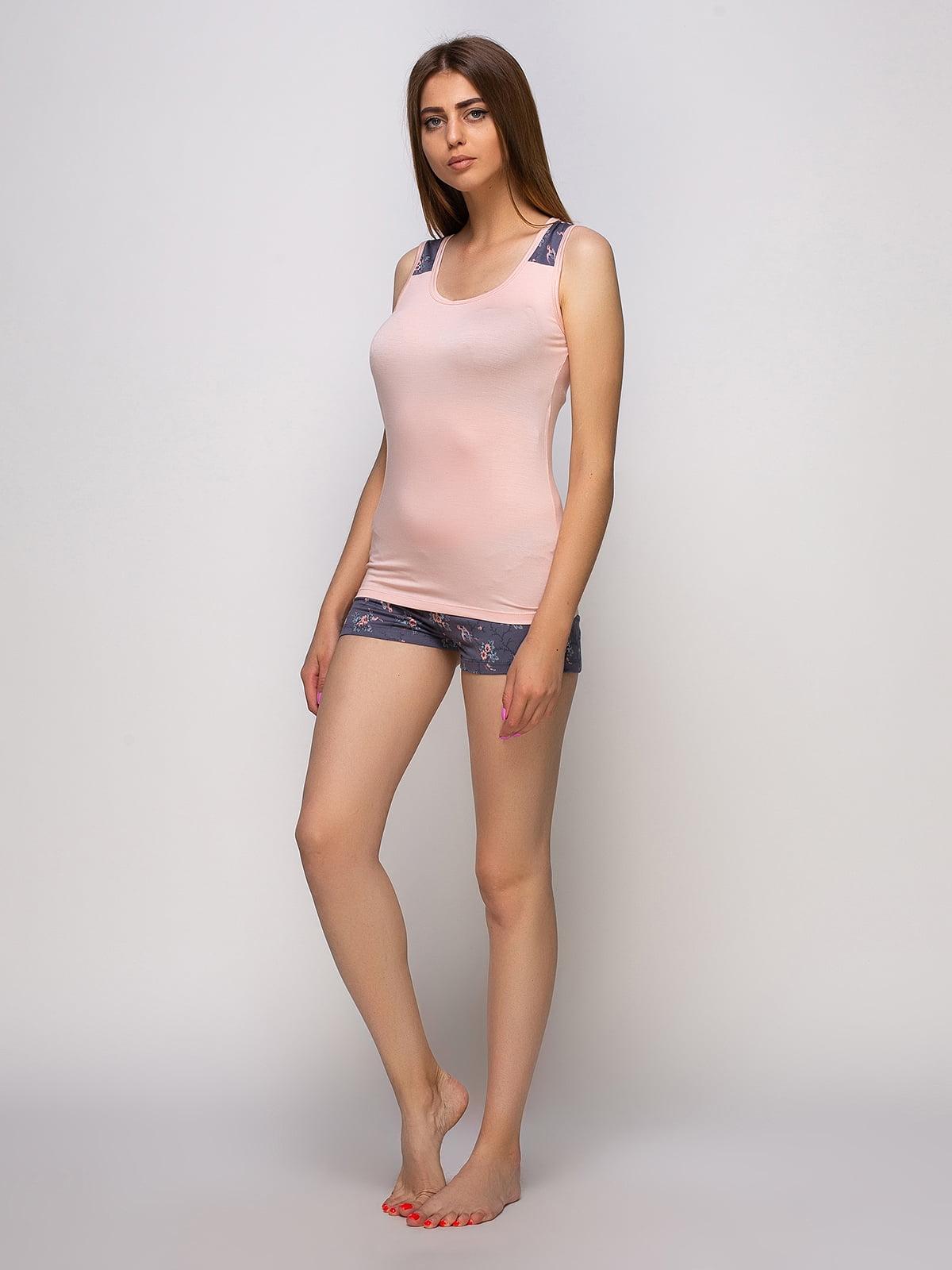 Пижама: майка и шорты | 4480300