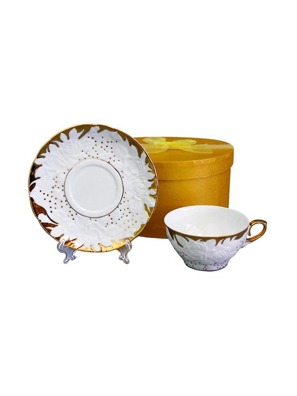 Набір чайний «Золотий пил» (4 предмета) | 4493598