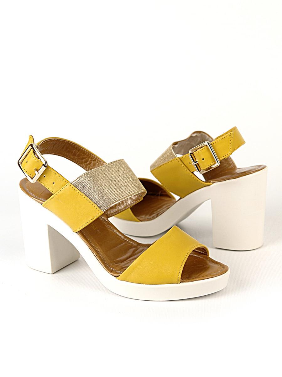 Босоножки желтые | 4492527