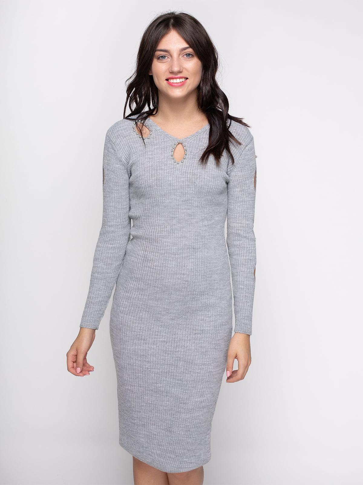Сукня сіра | 4481322