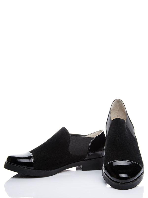 Туфлі чорні | 4000529 | фото 3