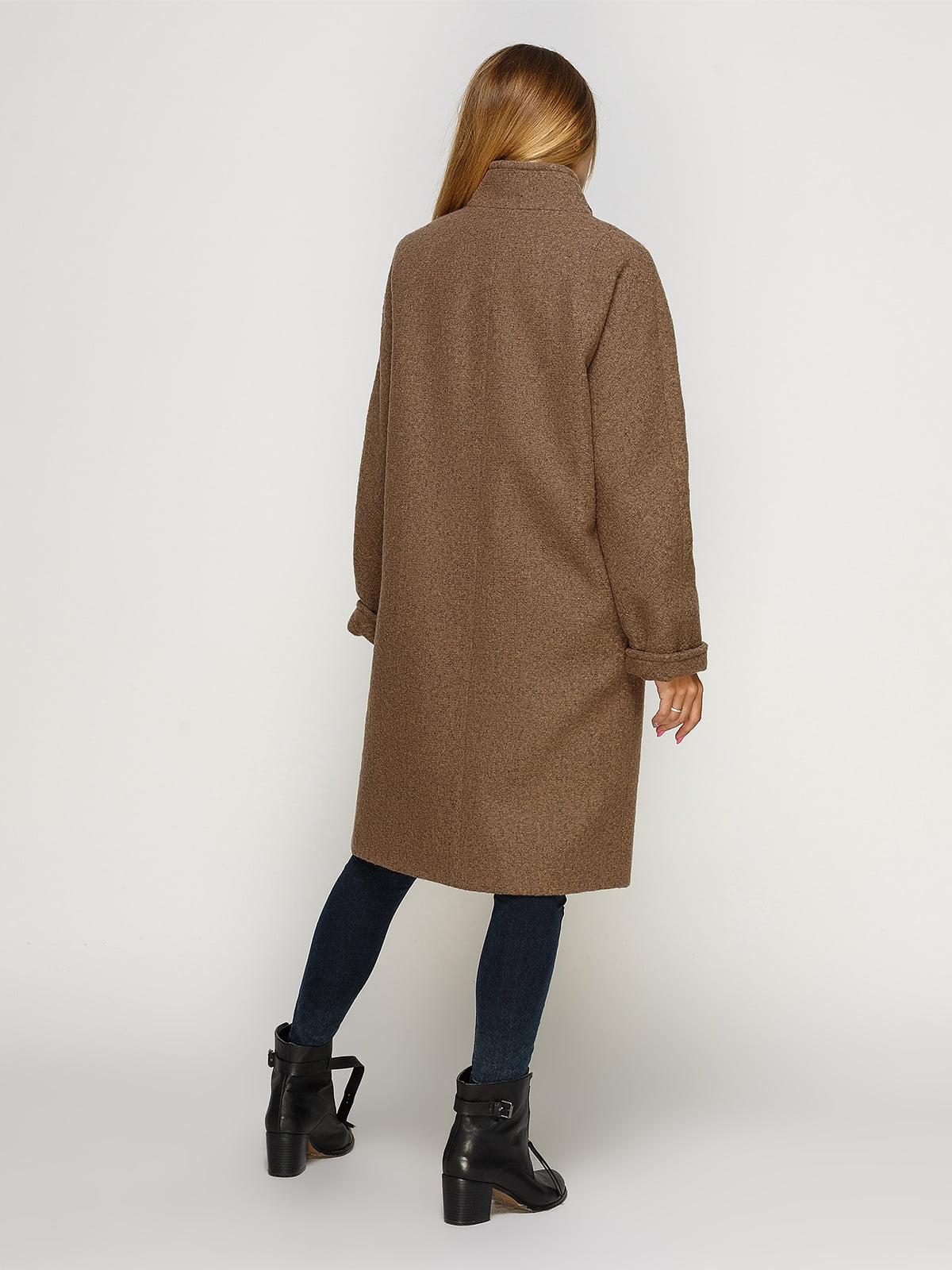 Пальто цвета мокко | 4492598 | фото 2