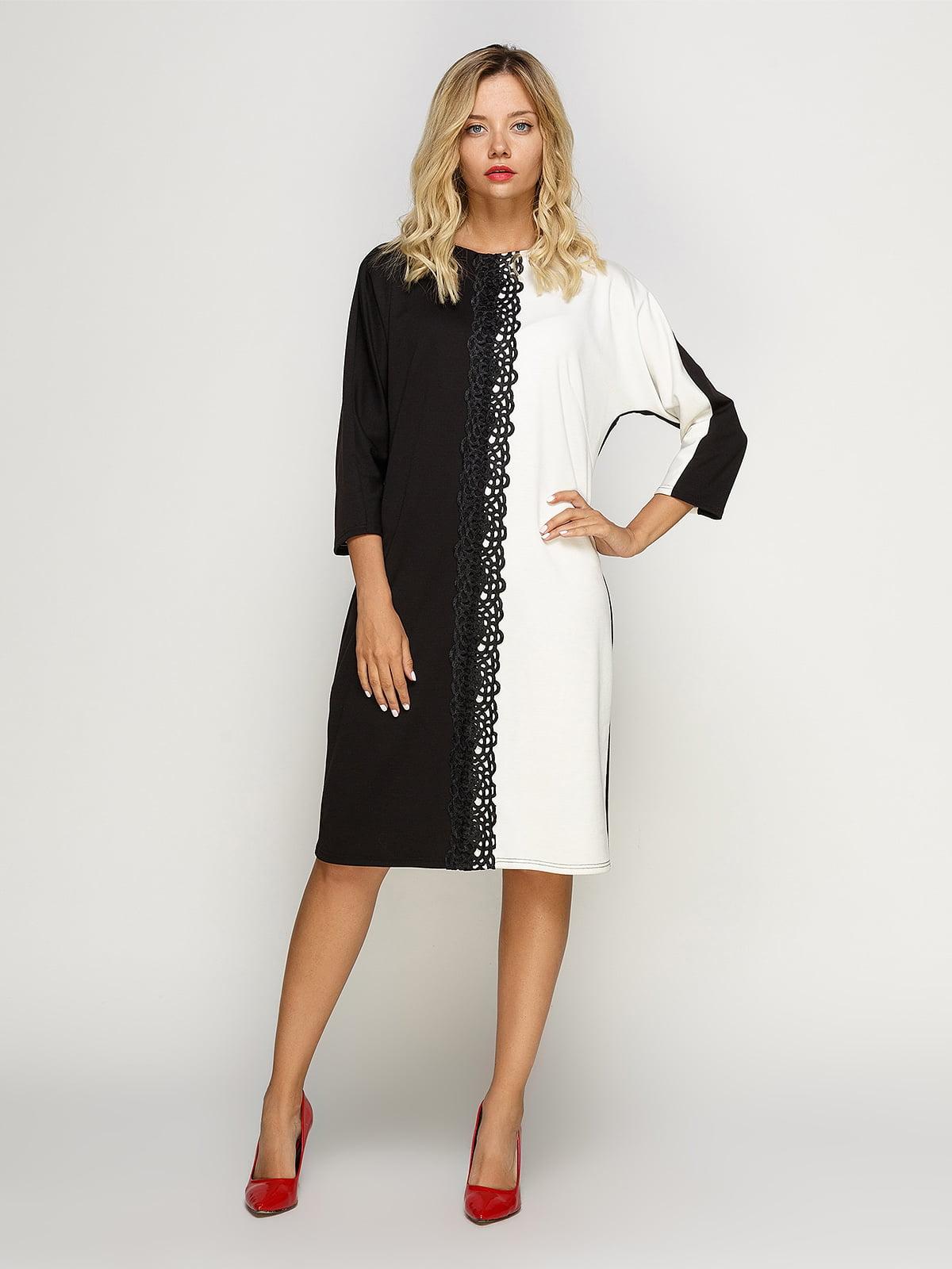 Сукня чорно-біла | 4492704