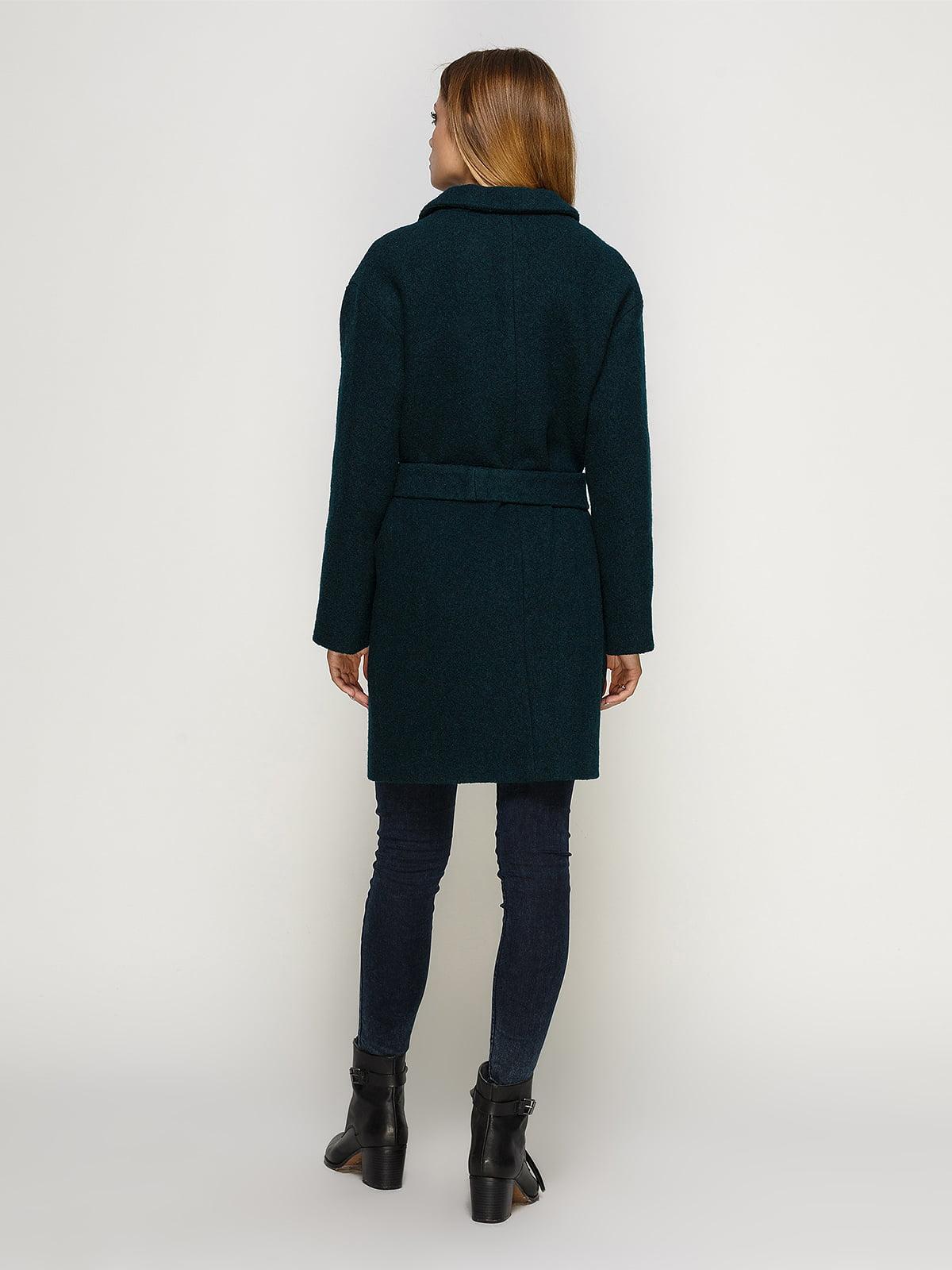 Пальто зеленое | 4492593 | фото 3
