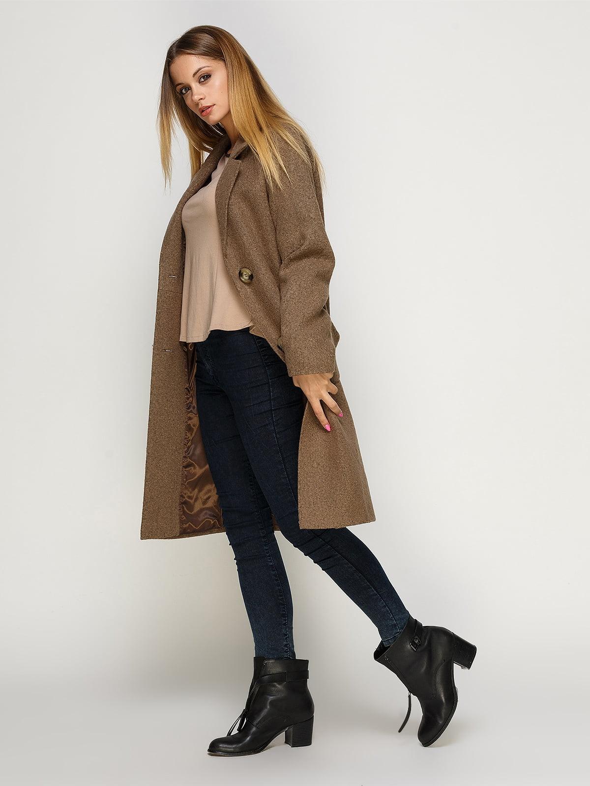 Пальто цвета мокко | 4492603