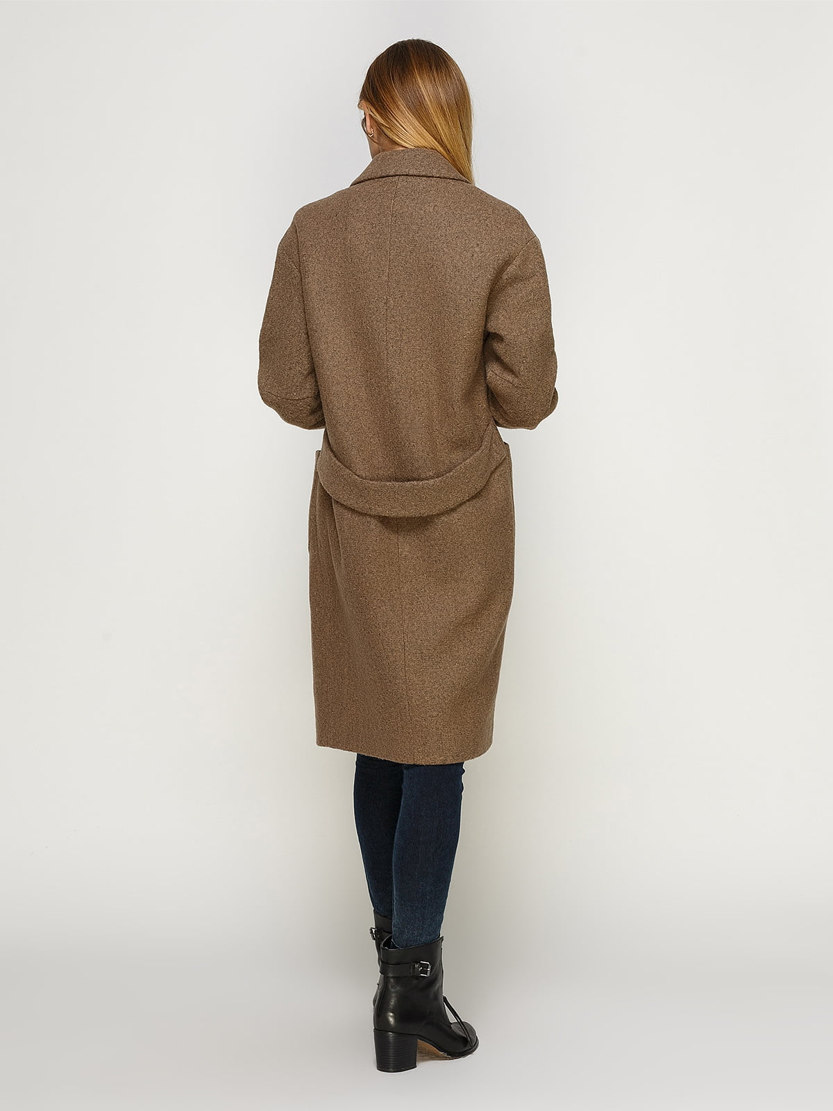 Пальто цвета мокко | 4492603 | фото 2