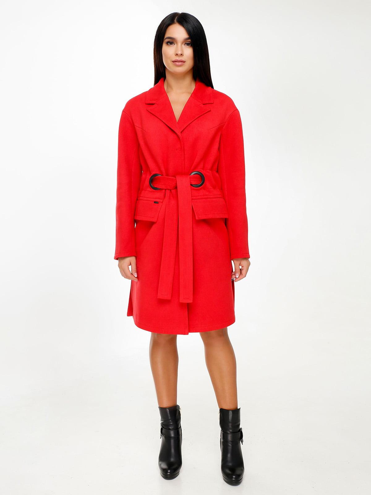 Пальто красное | 4498605