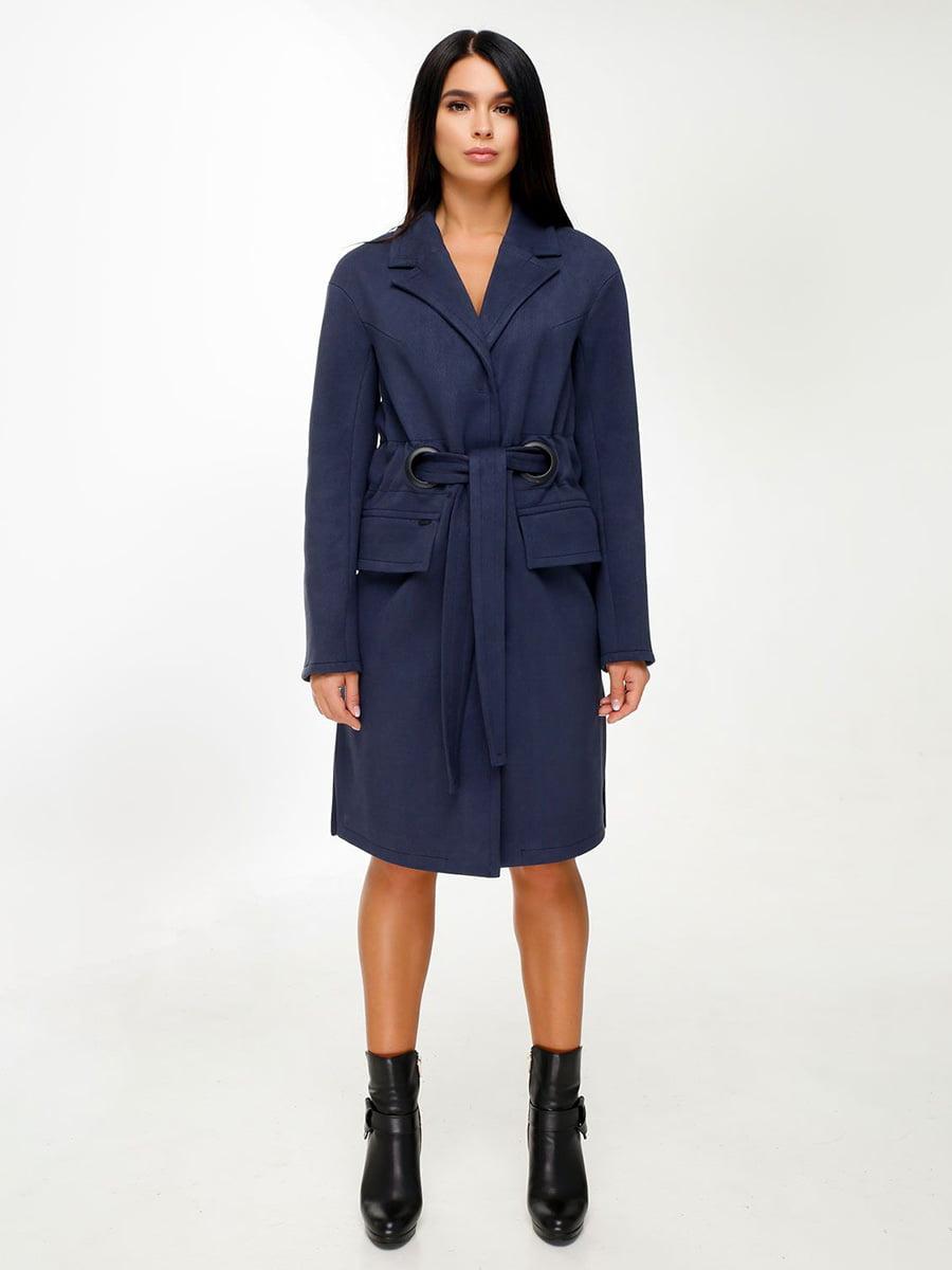 Пальто синее | 4498639