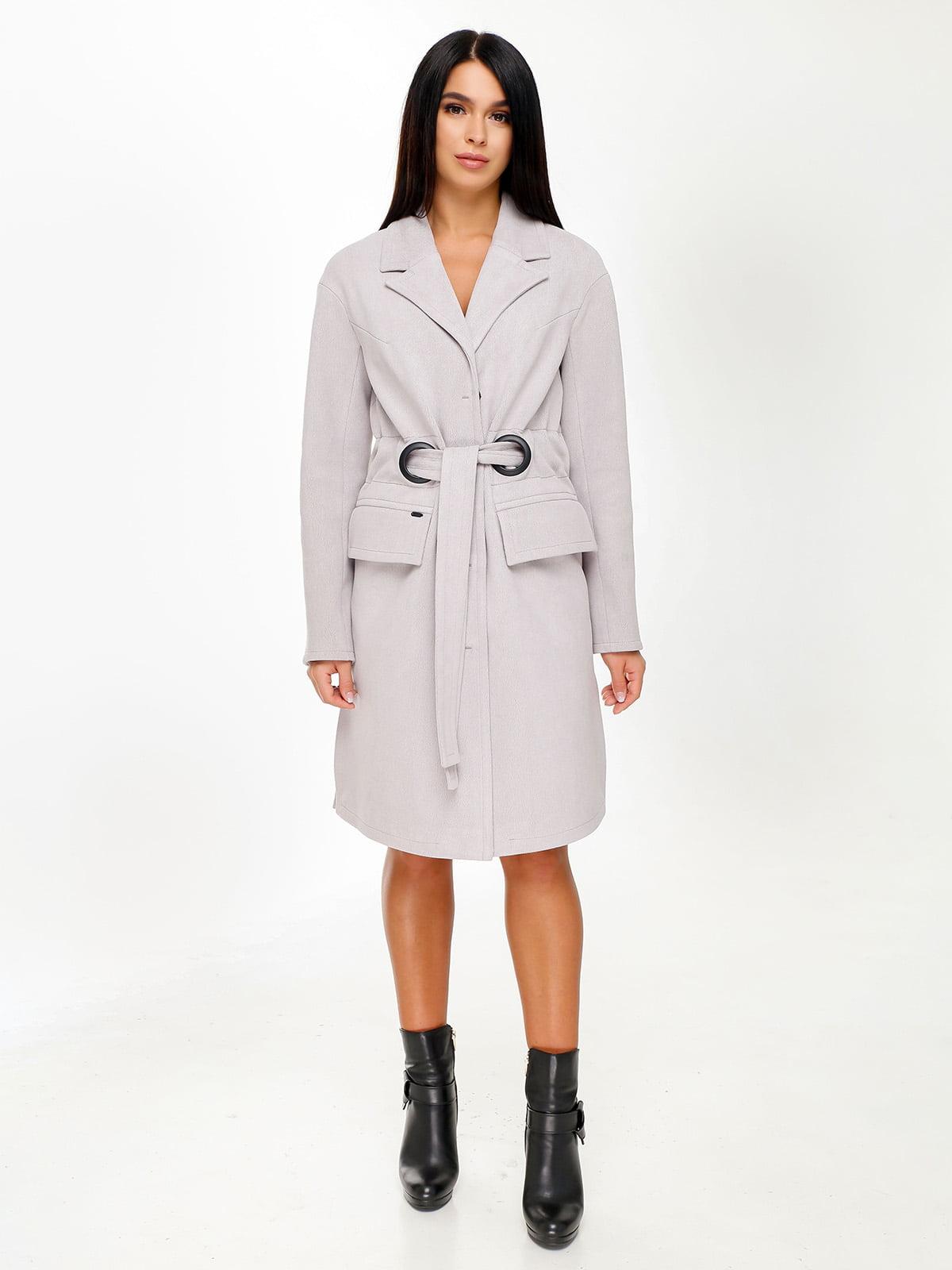 Пальто серое | 4498640