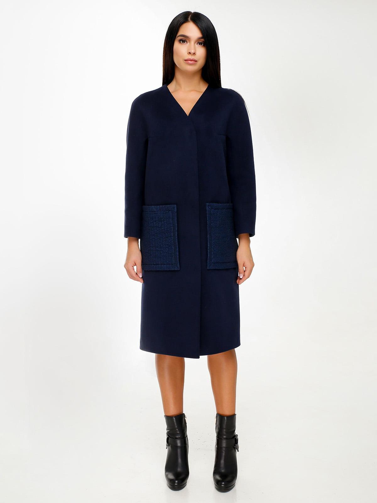 Пальто синє | 4498658