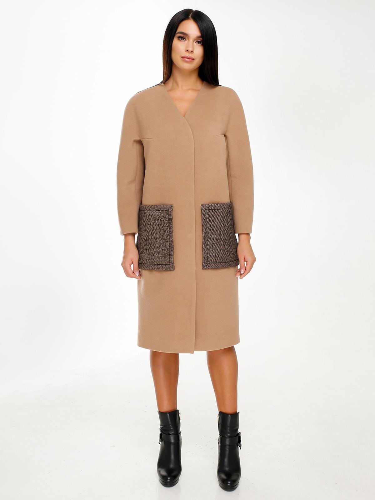 Пальто коричневое | 4498661
