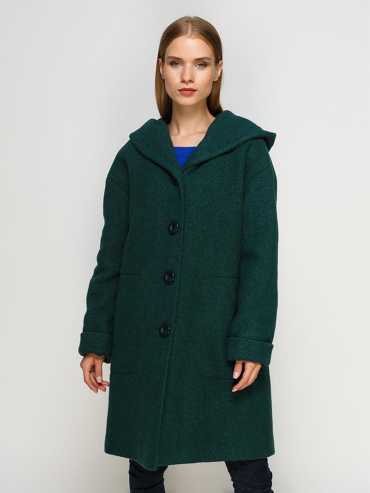 Пальто зеленое | 4492621