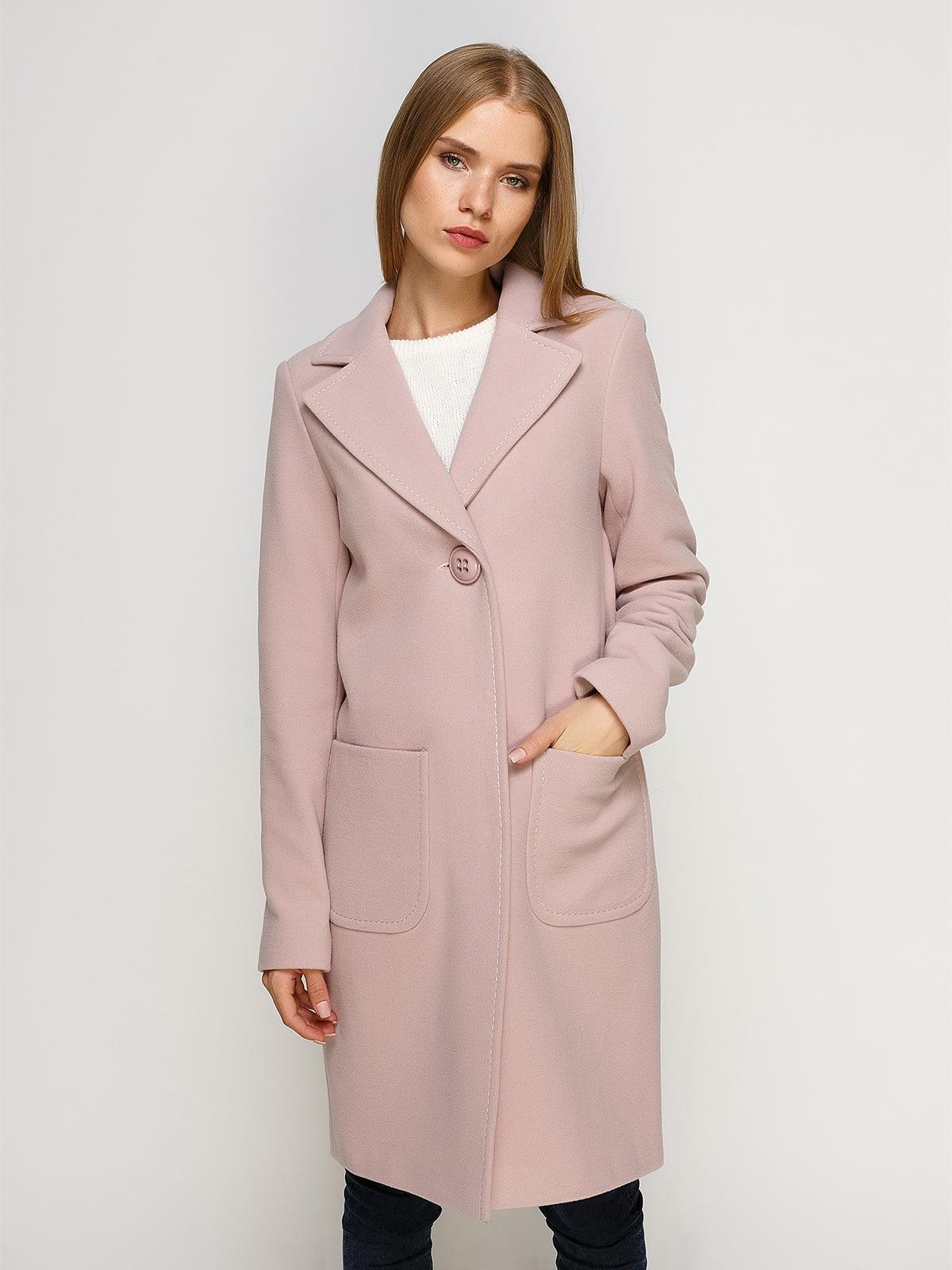 Пальто розовое   4492628