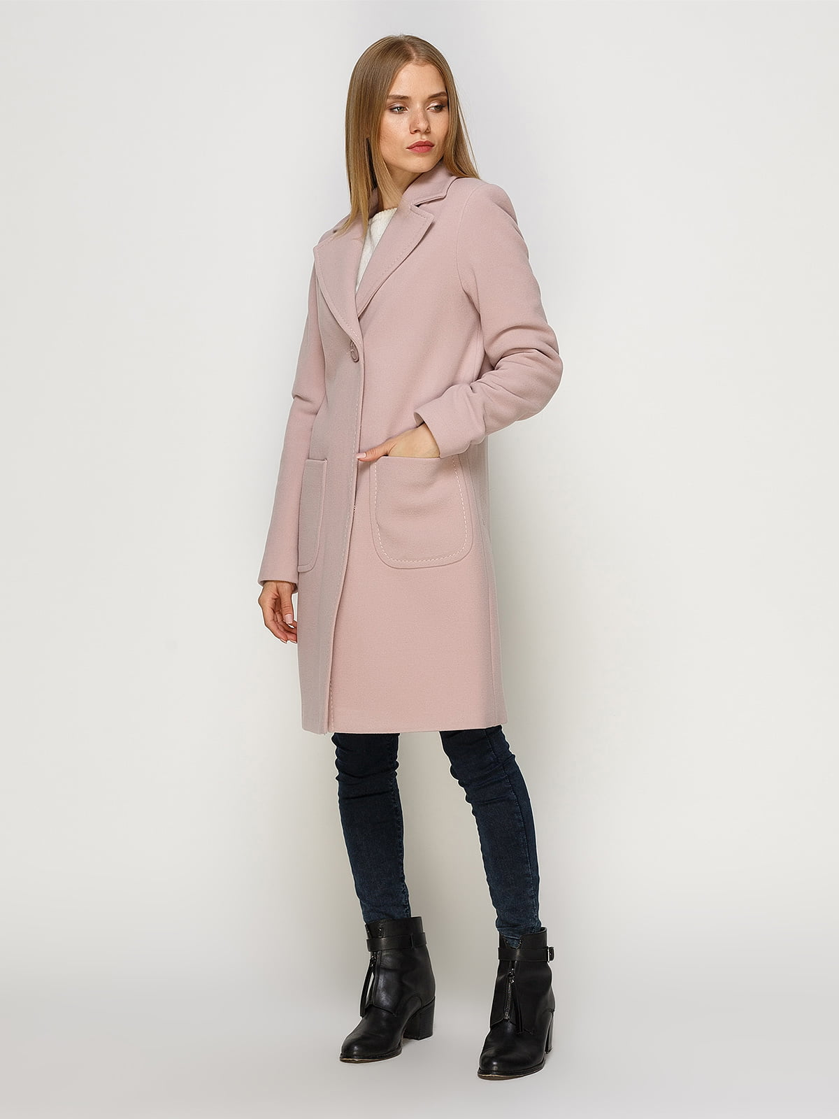 Пальто розовое   4492628   фото 2