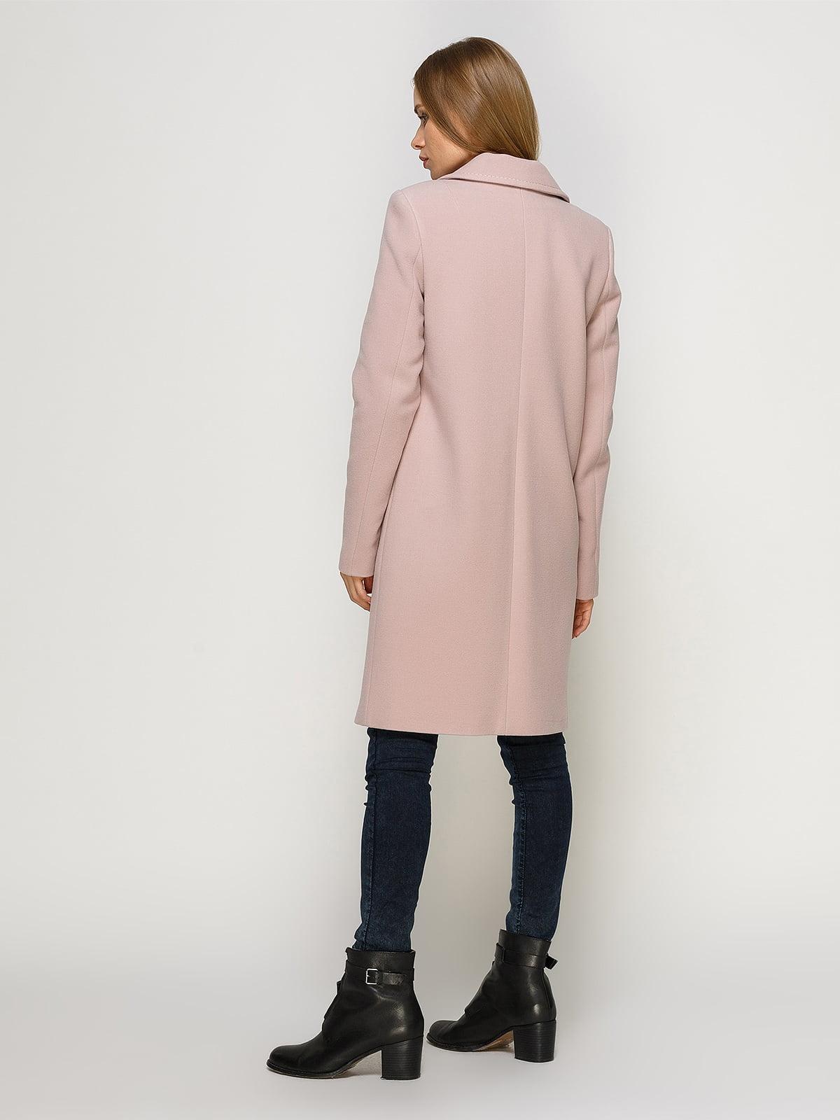 Пальто розовое   4492628   фото 3
