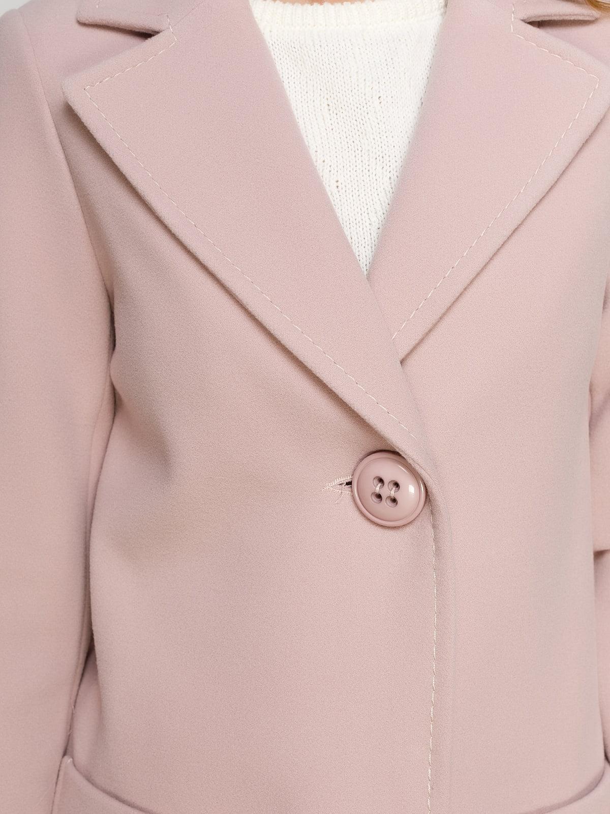 Пальто розовое   4492628   фото 4