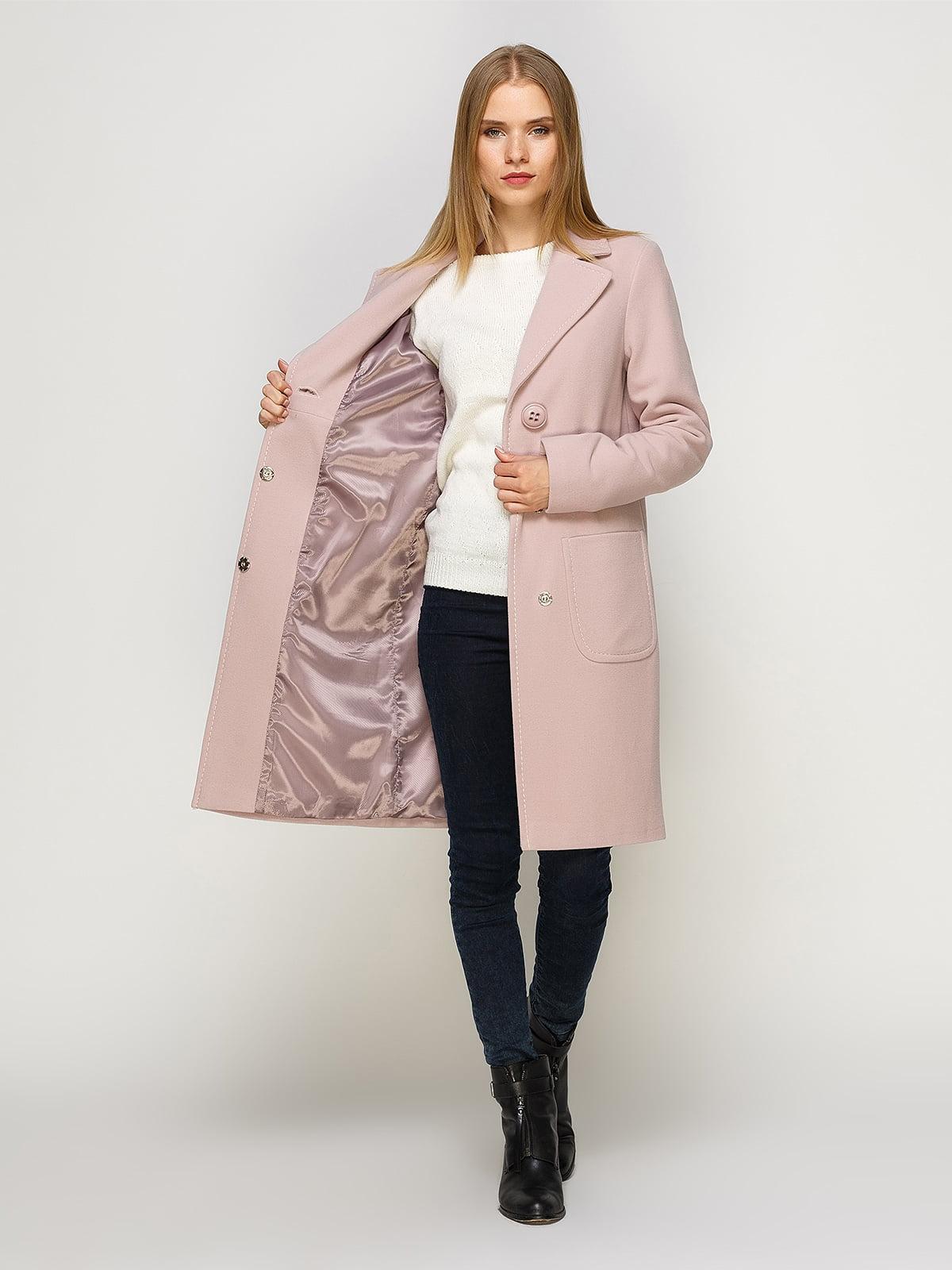 Пальто розовое   4492628   фото 5