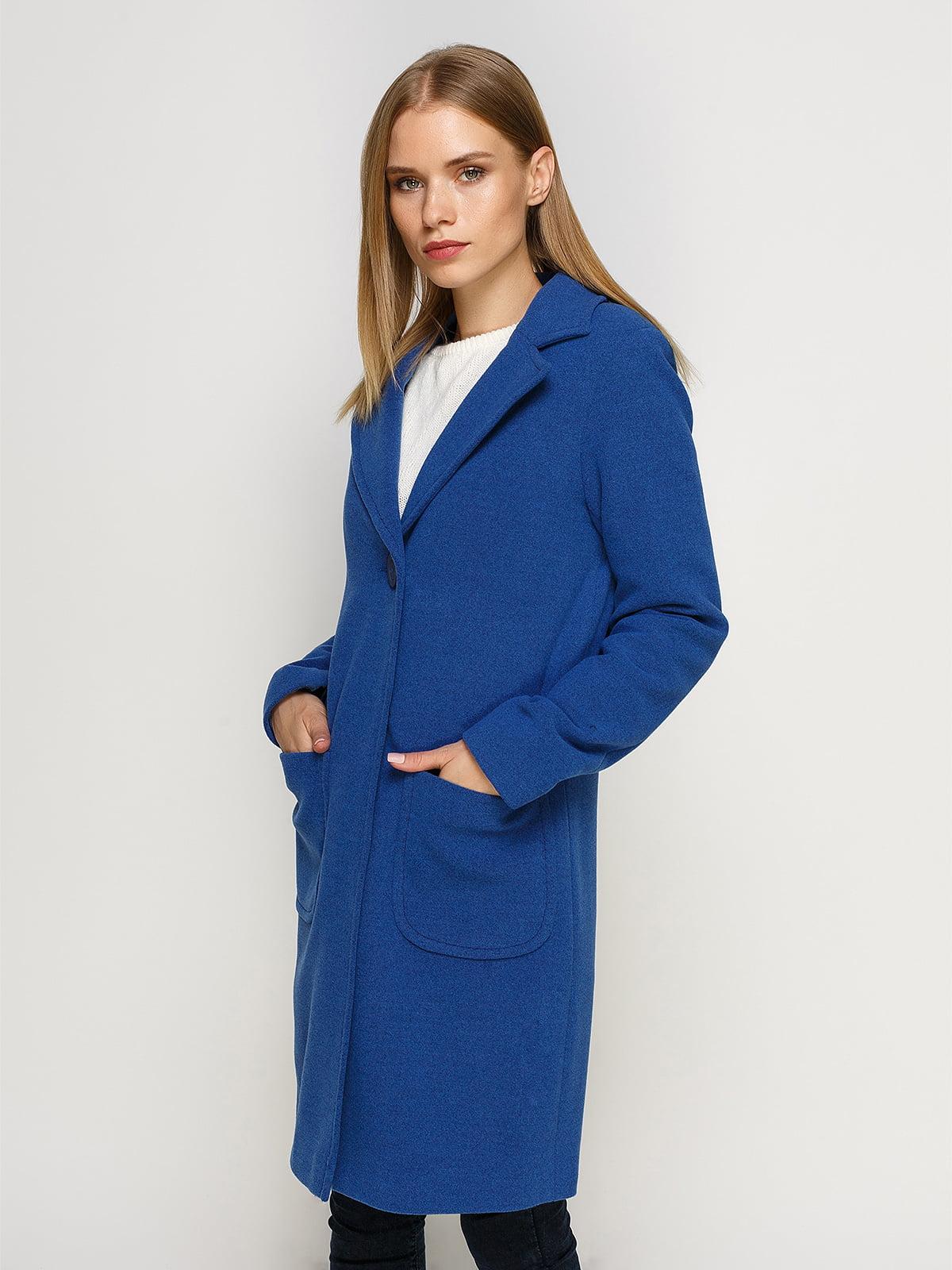 Пальто синє | 4492627