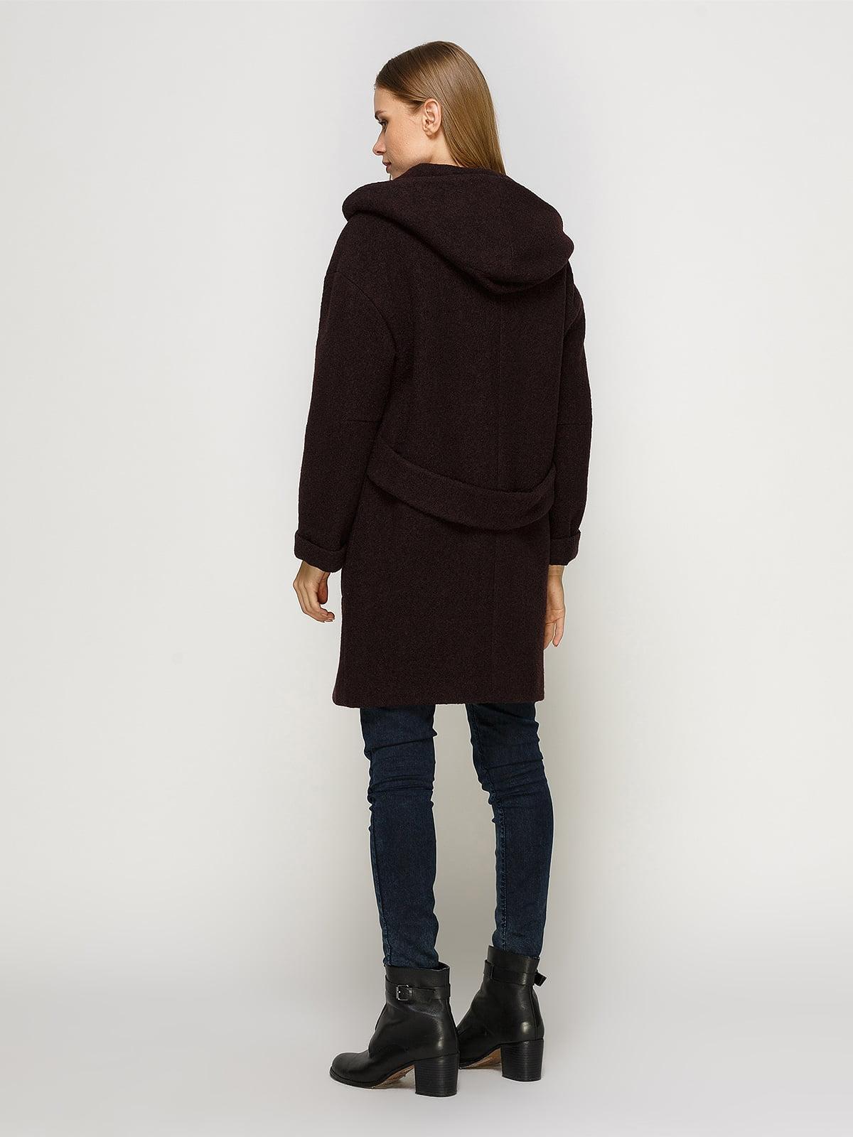 Пальто шоколадного цвета | 4492620 | фото 3