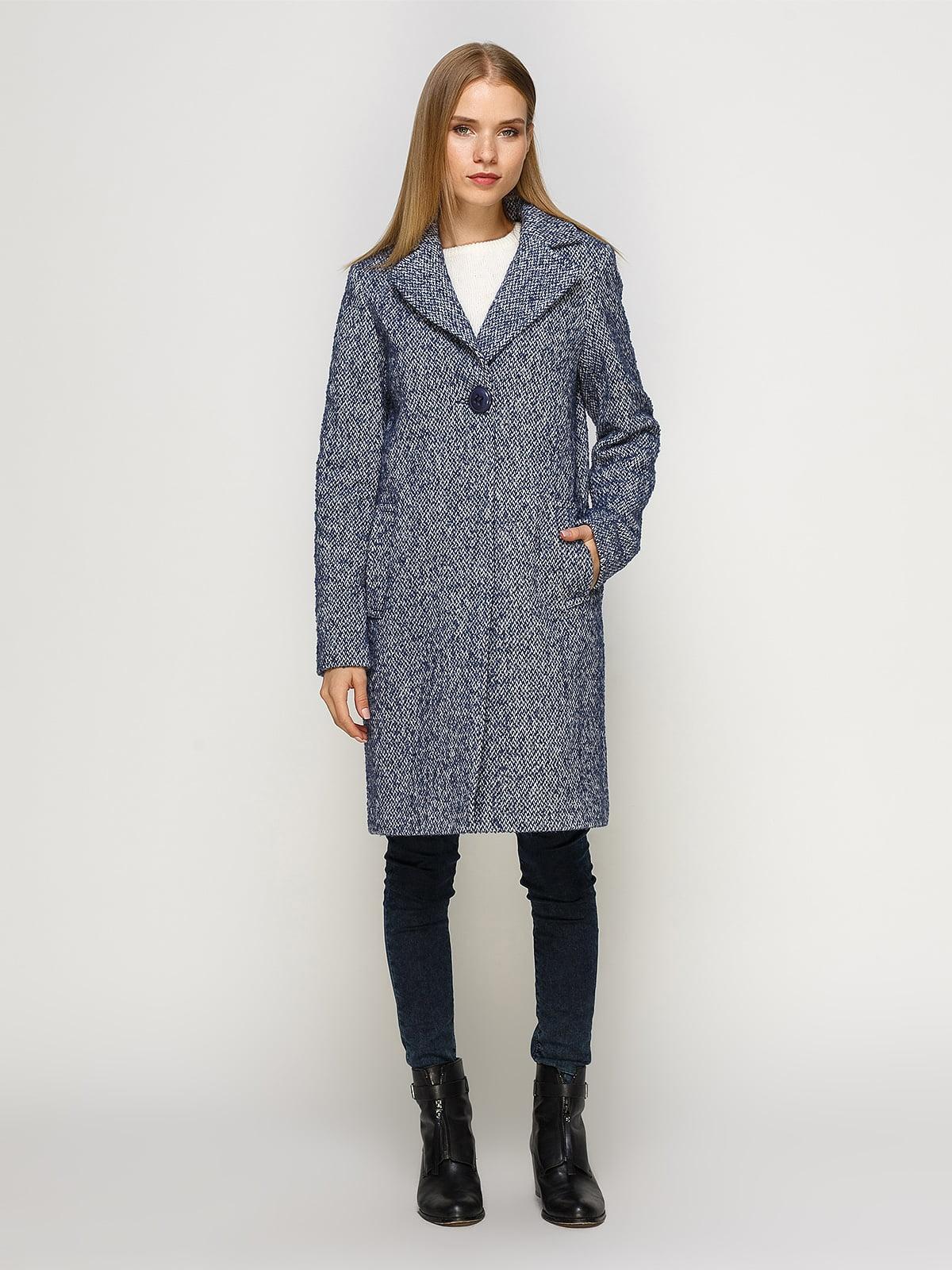Пальто светло-синее | 4492631 | фото 2