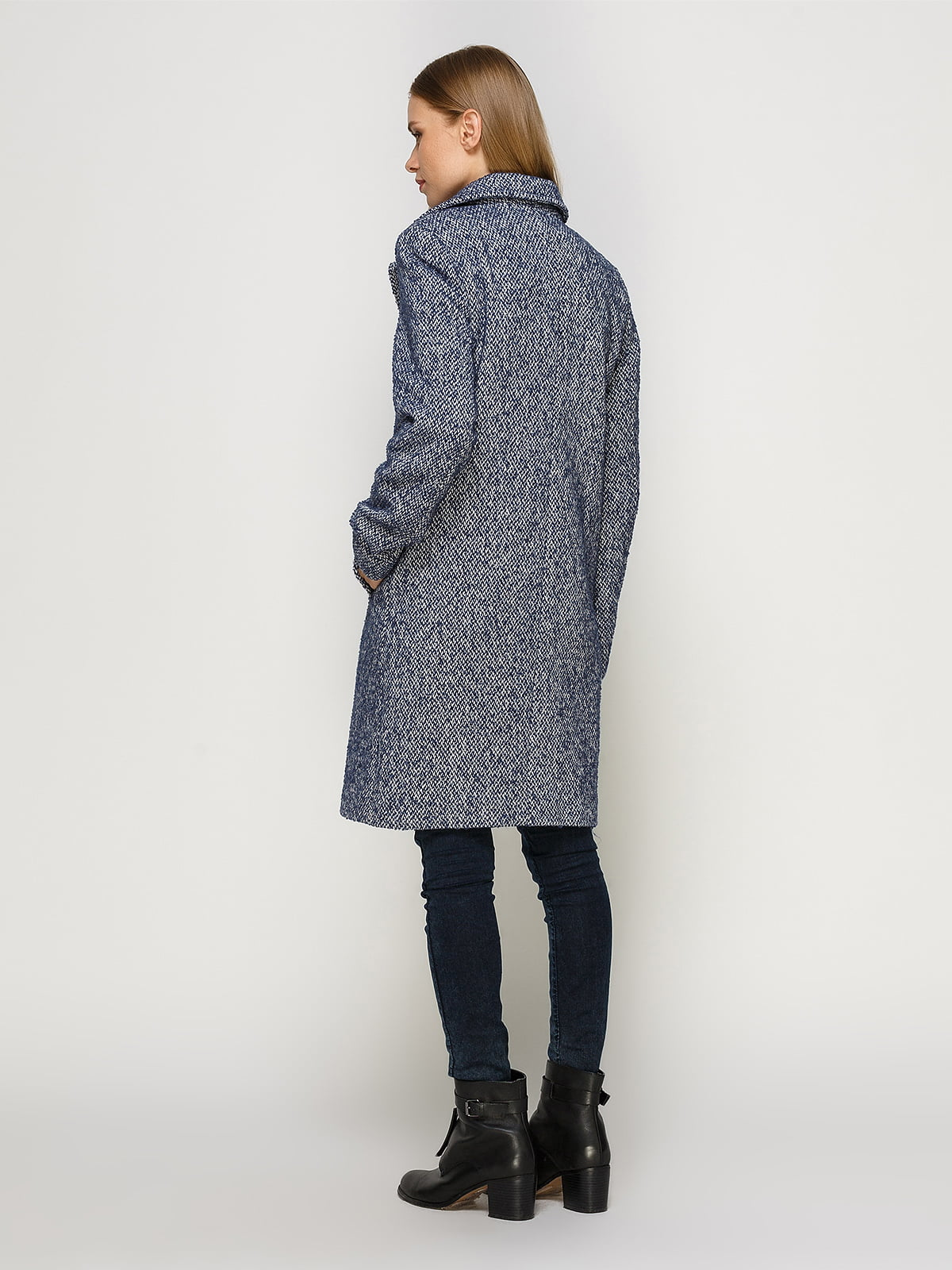 Пальто светло-синее | 4492631 | фото 3