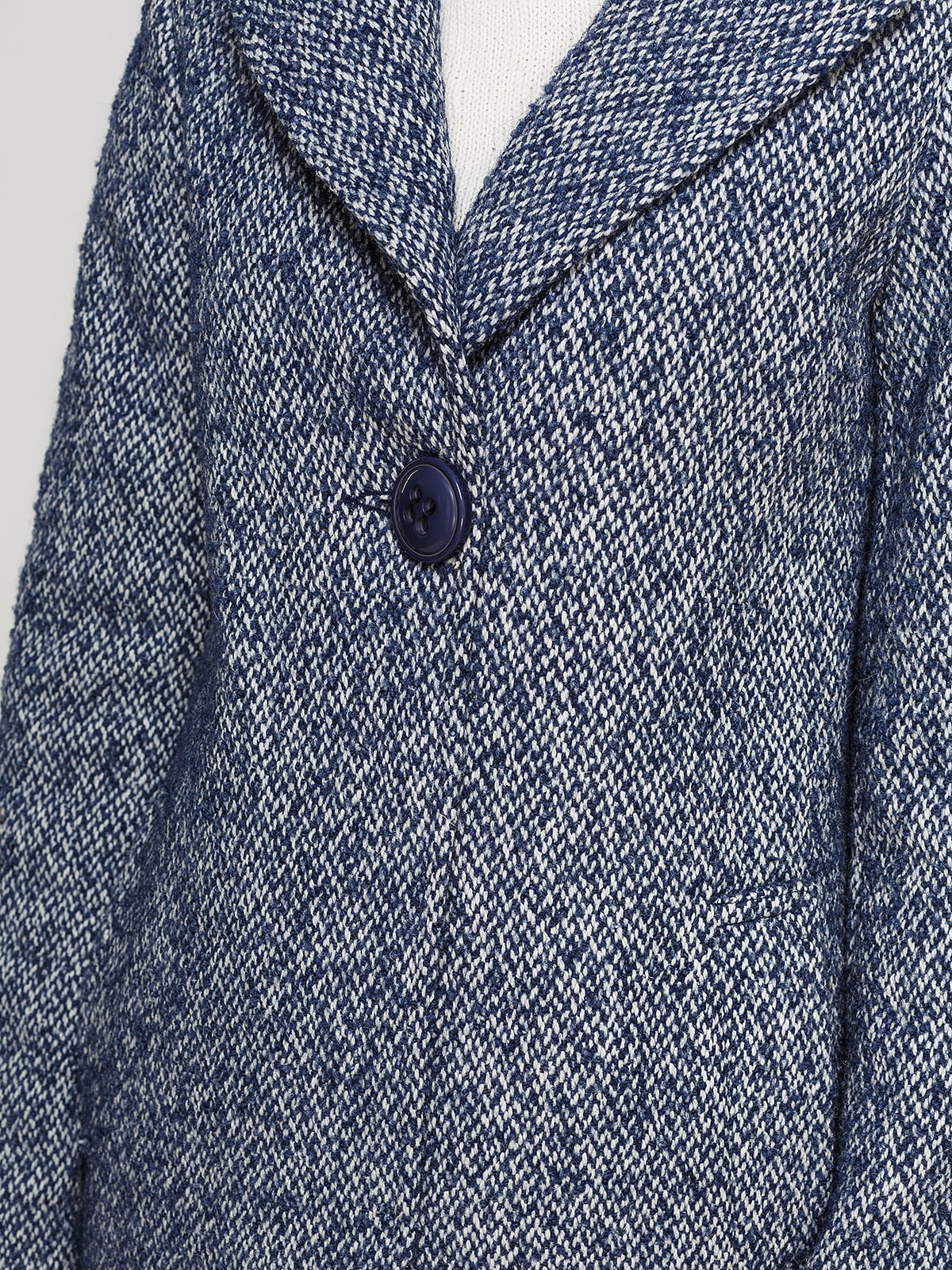 Пальто светло-синее | 4492631 | фото 4
