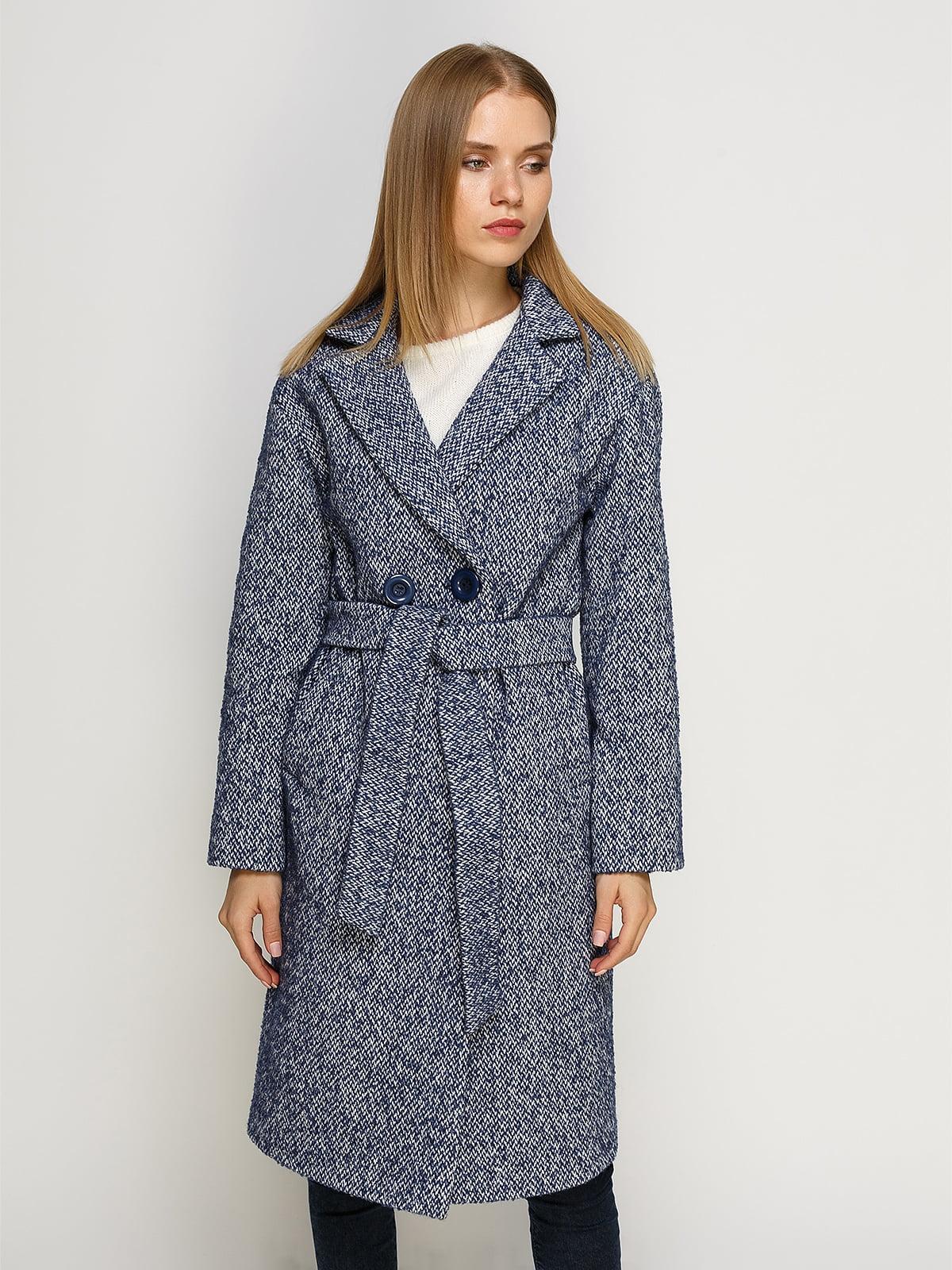Пальто світло-синє | 4492630