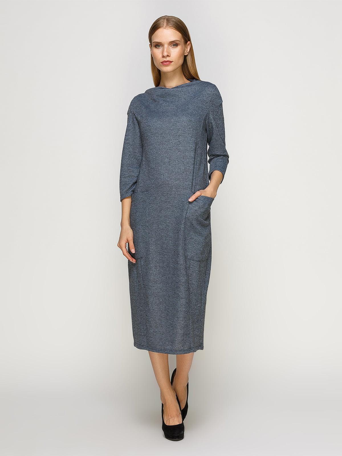 Сукня сіро-блакитна | 4492698