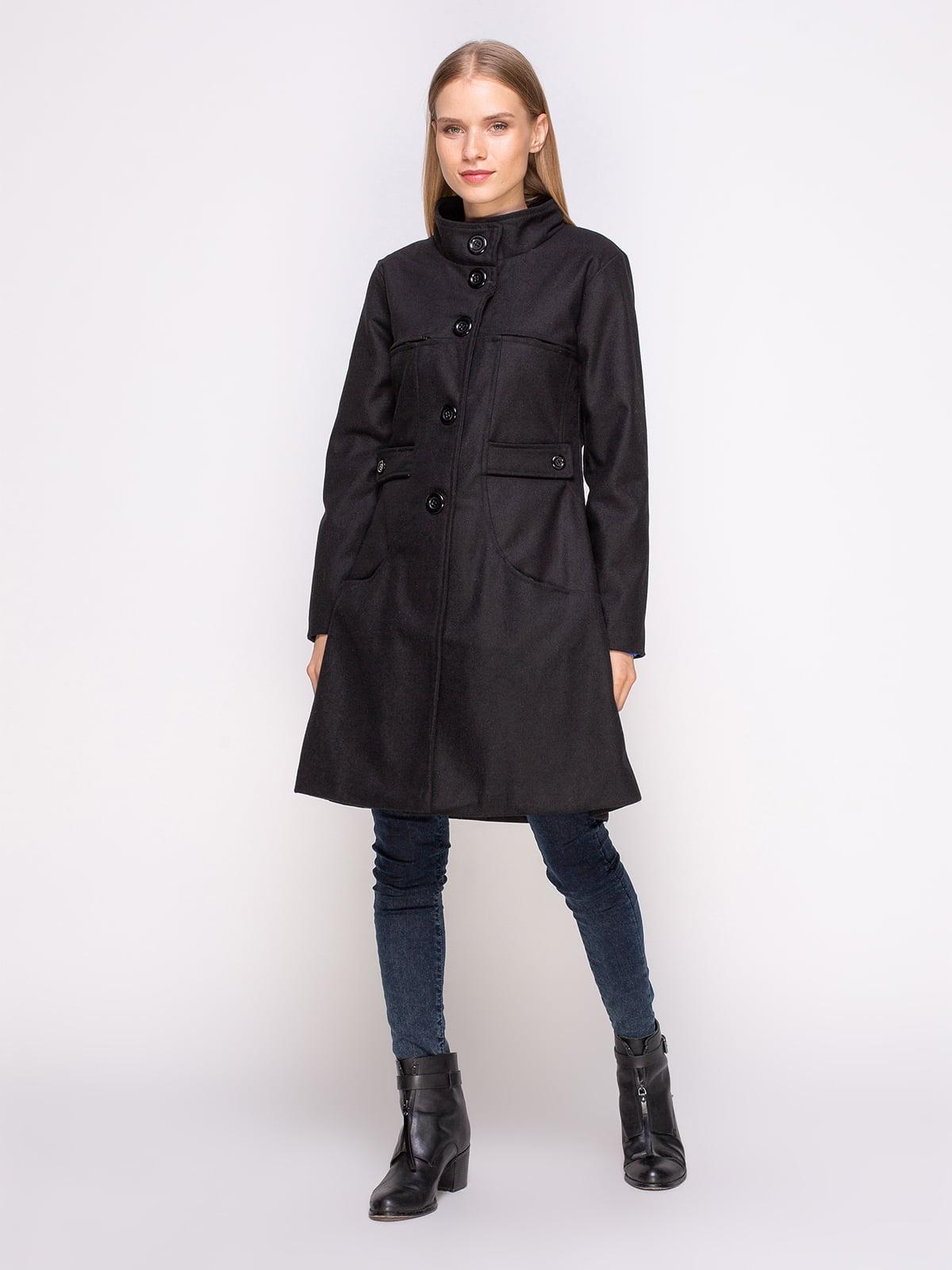 Пальто черное | 4458644 | фото 2