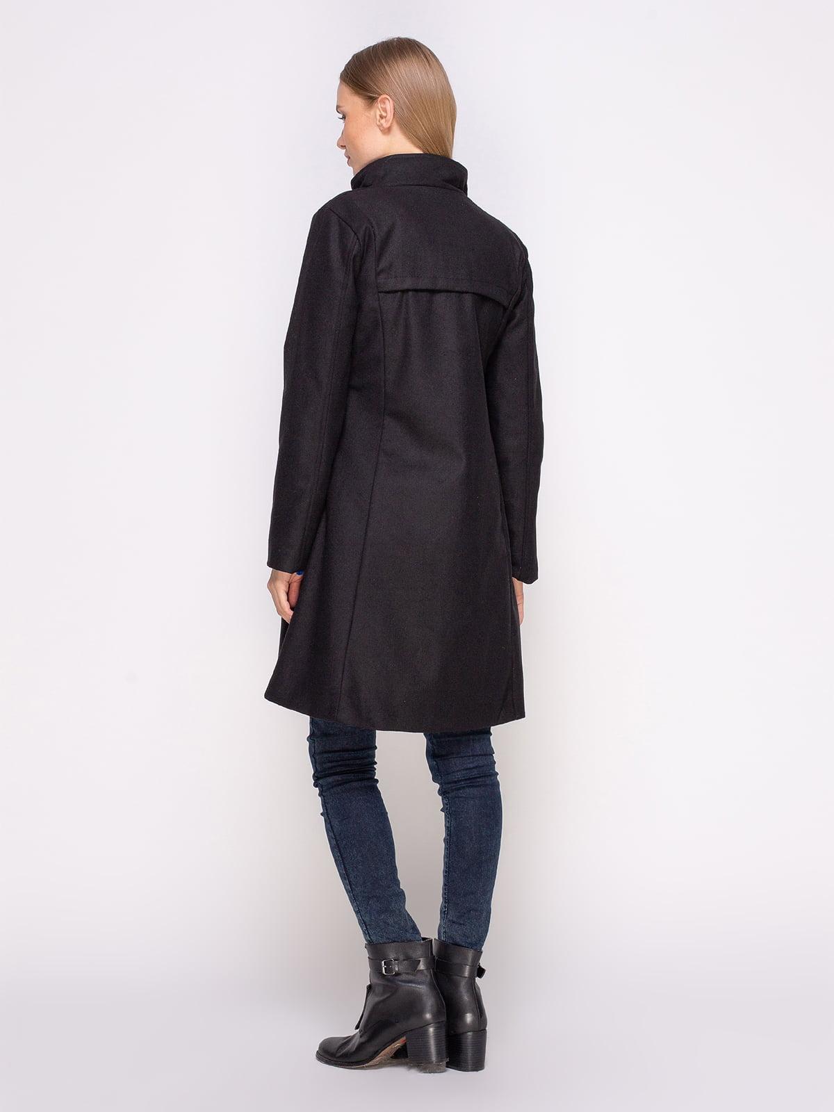 Пальто черное | 4458644 | фото 3