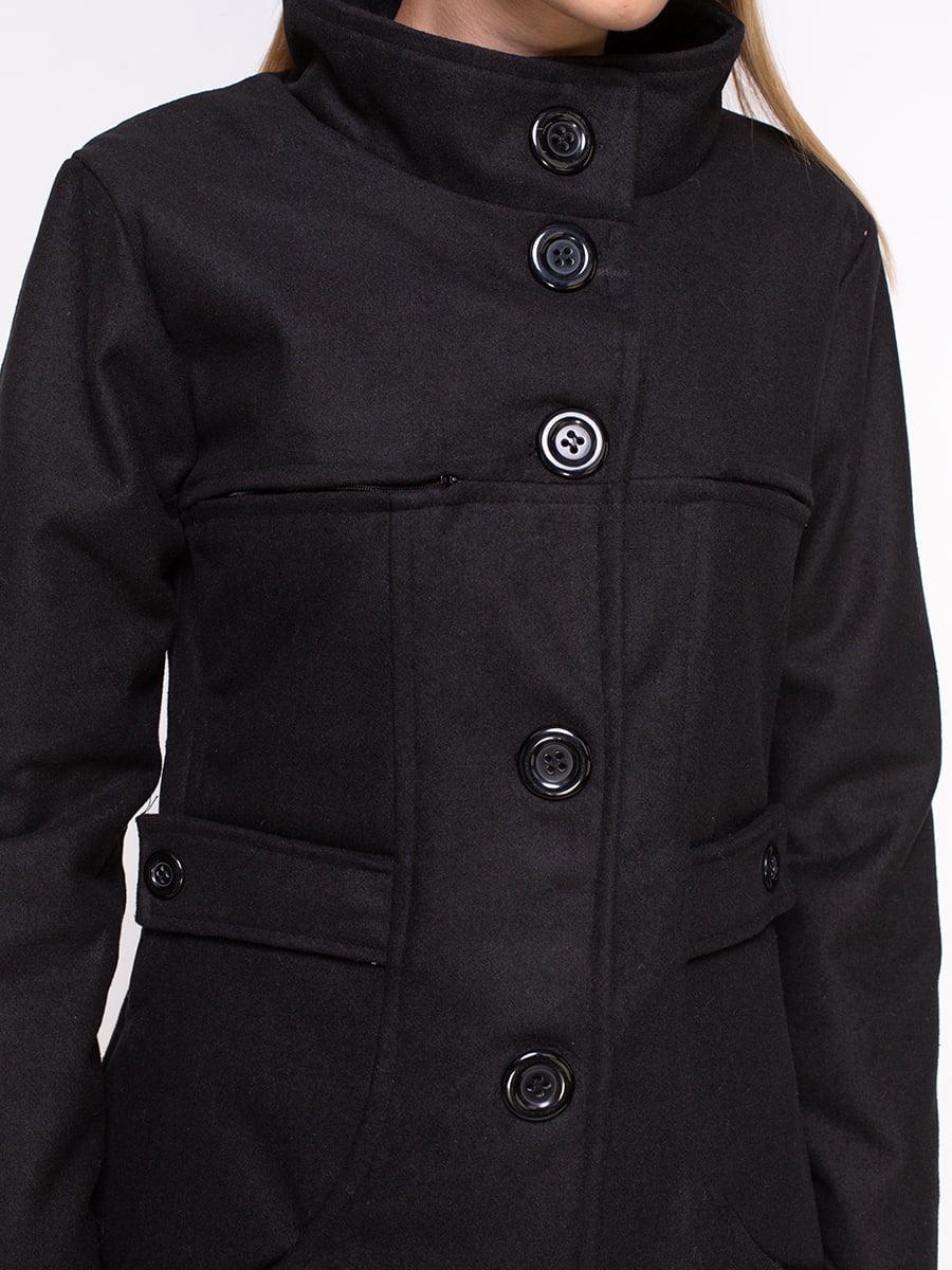 Пальто черное | 4458644 | фото 4