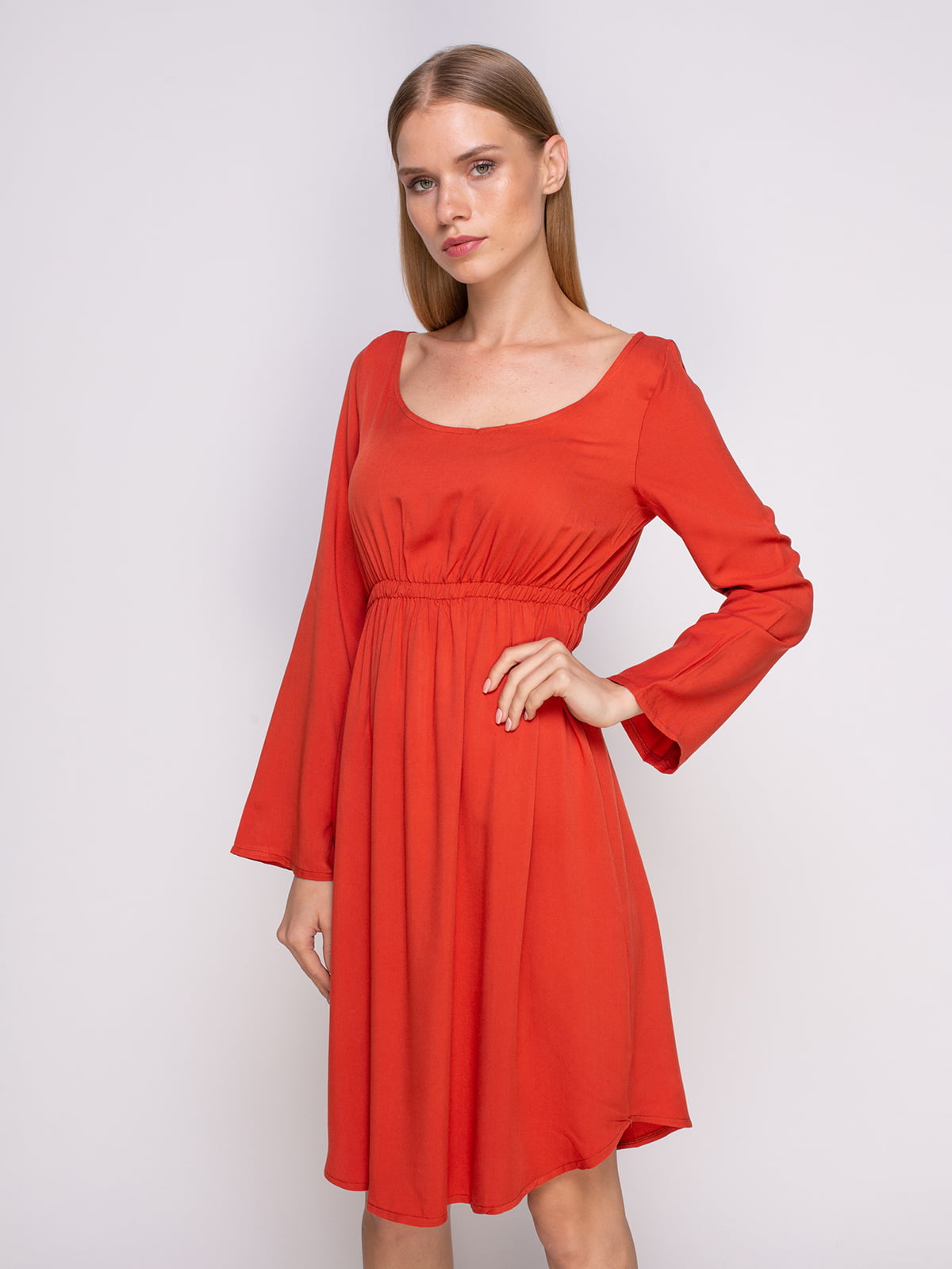 Сукня цегляного кольору | 4294000