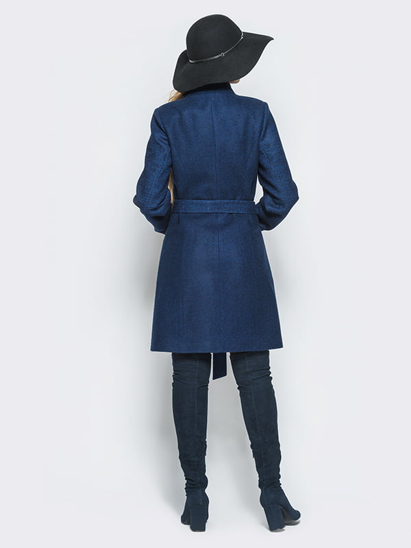 Пальто синє | 4510898