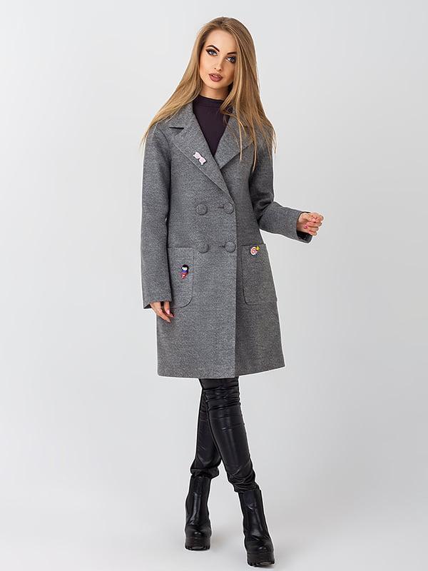 Пальто сіре | 4510900