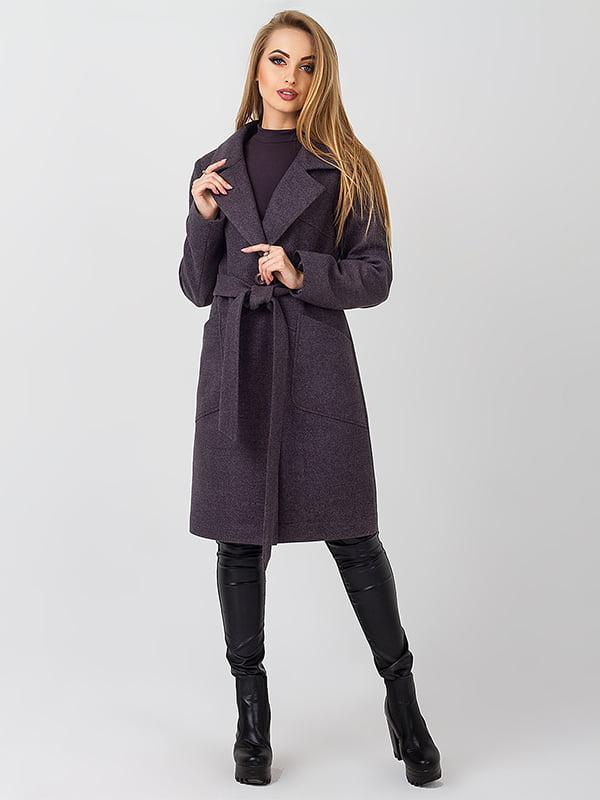 Пальто темно-сіре | 4510905