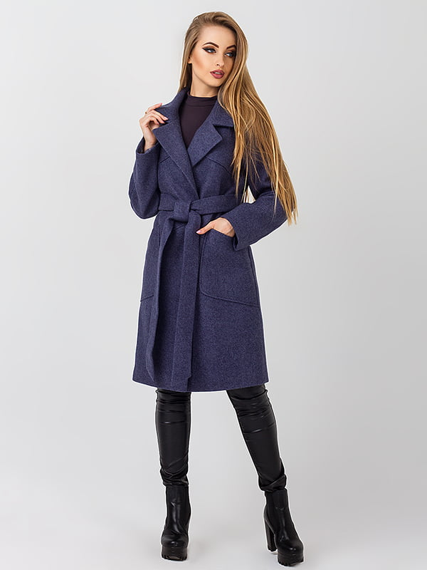 Пальто синє | 4510906