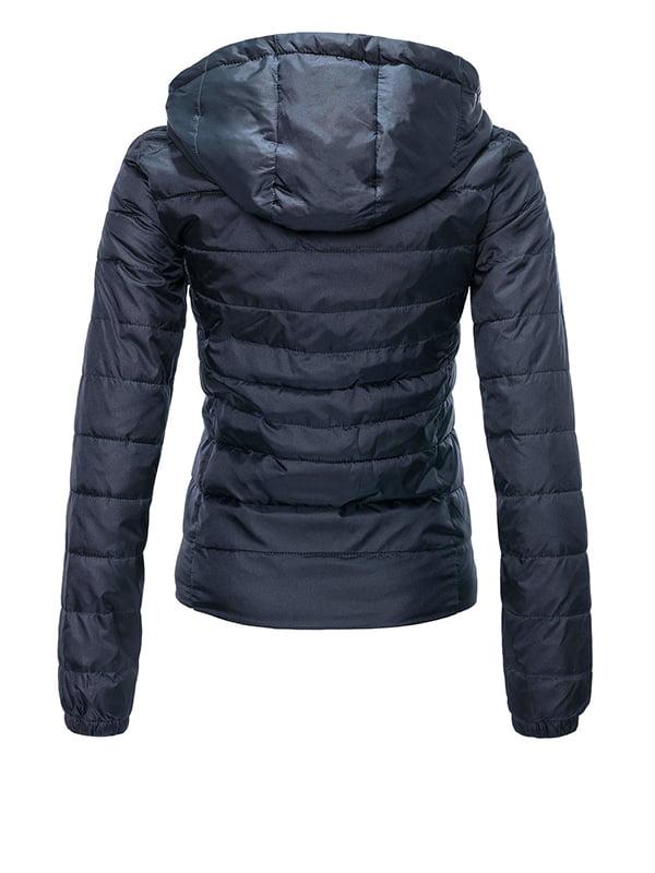 Куртка темно-синяя | 4510939 | фото 3