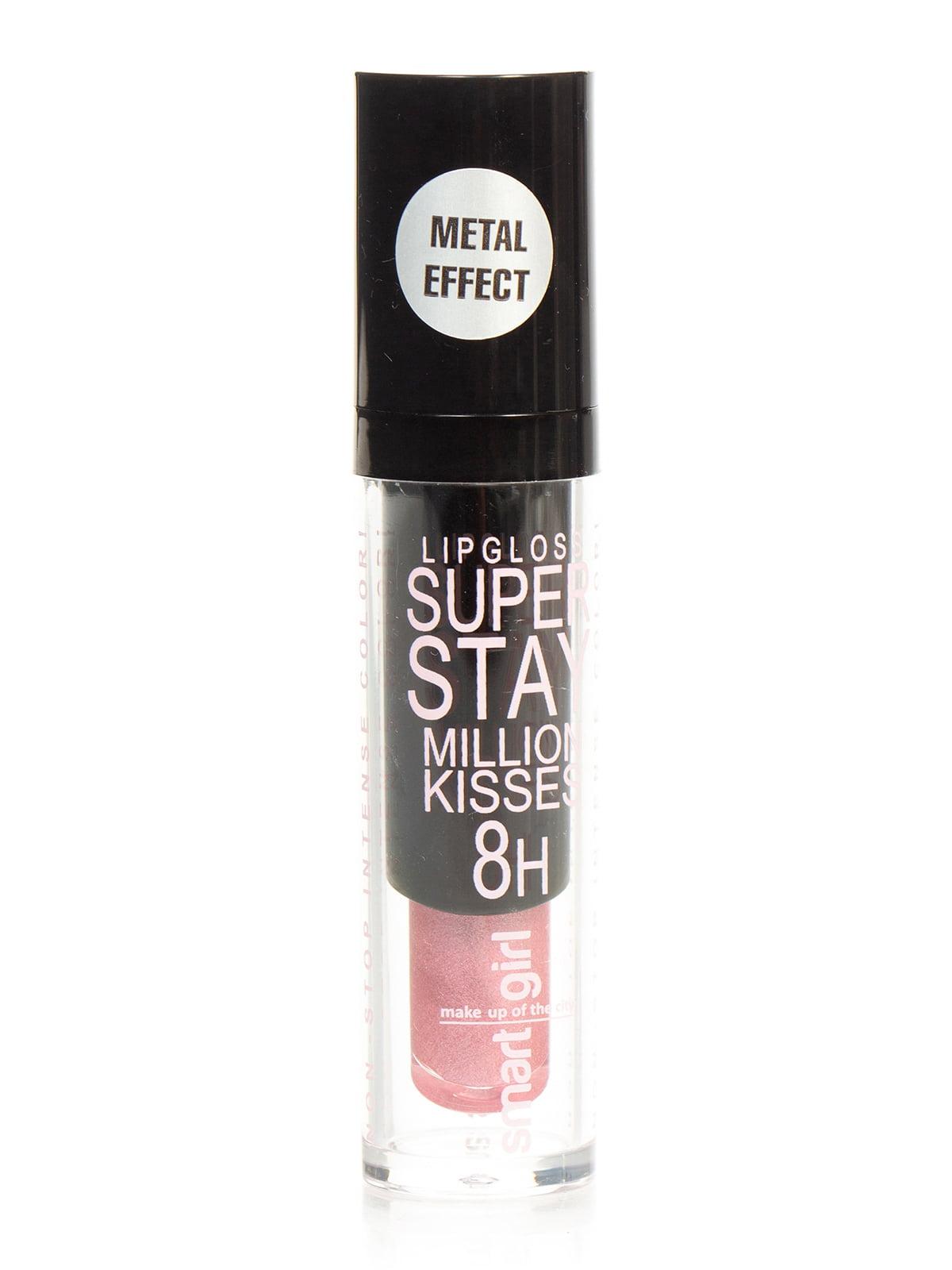 Блиск для губ суперстійкий Smart Girl Million Kisses — тон 214 | 4050278
