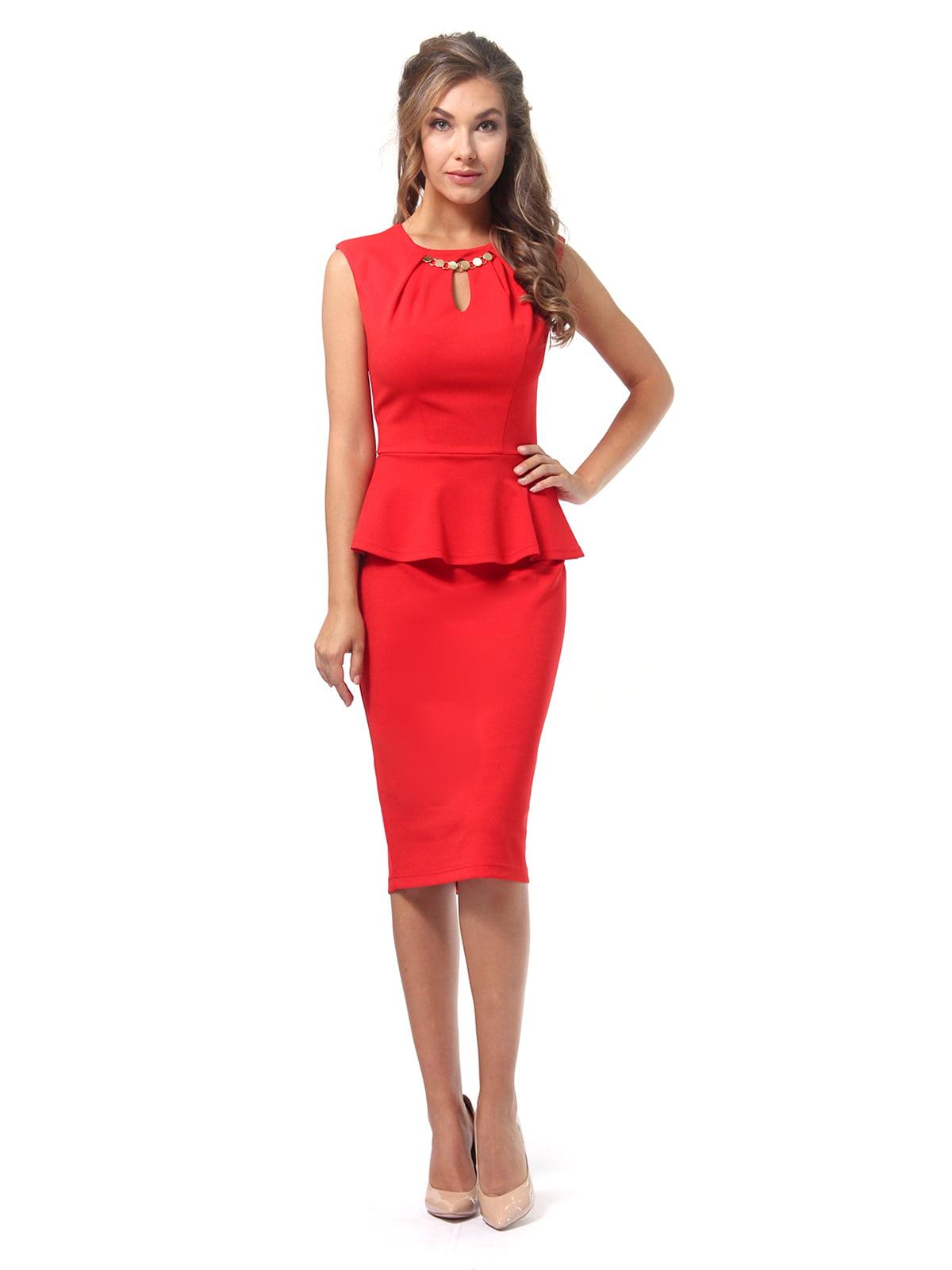 Платье красное | 4518835 | фото 2