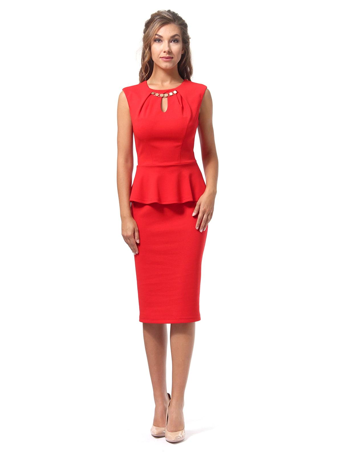 Платье красное | 4518835 | фото 6