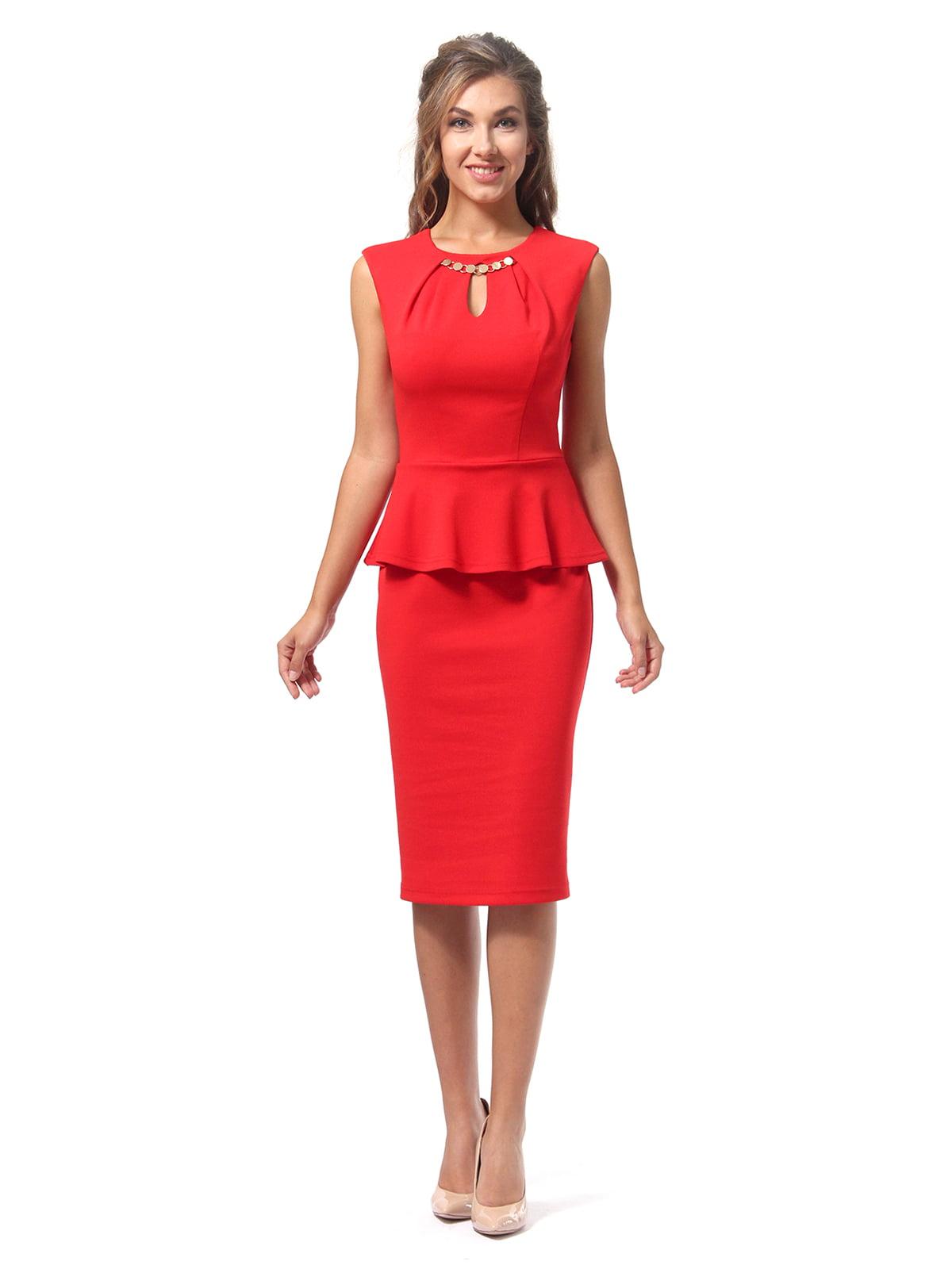 Платье красное | 4518835 | фото 7
