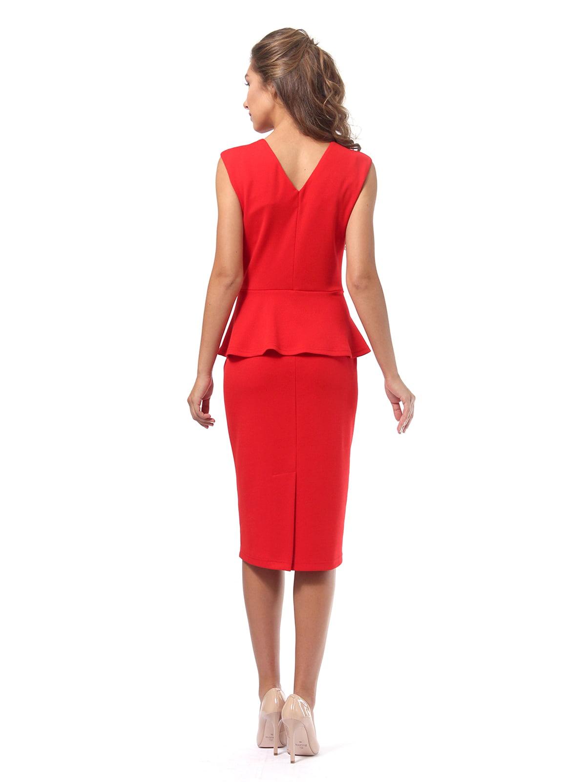 Платье красное | 4518835 | фото 8