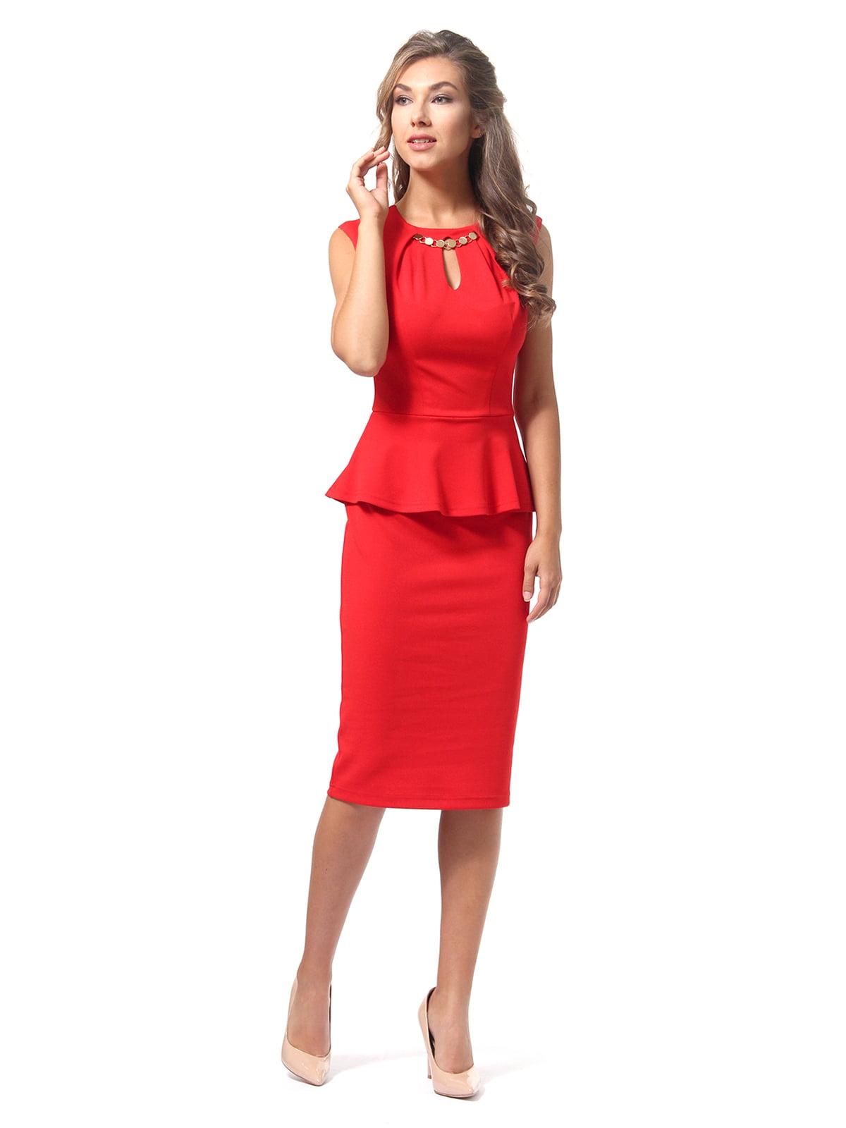 Сукня червона | 4518835
