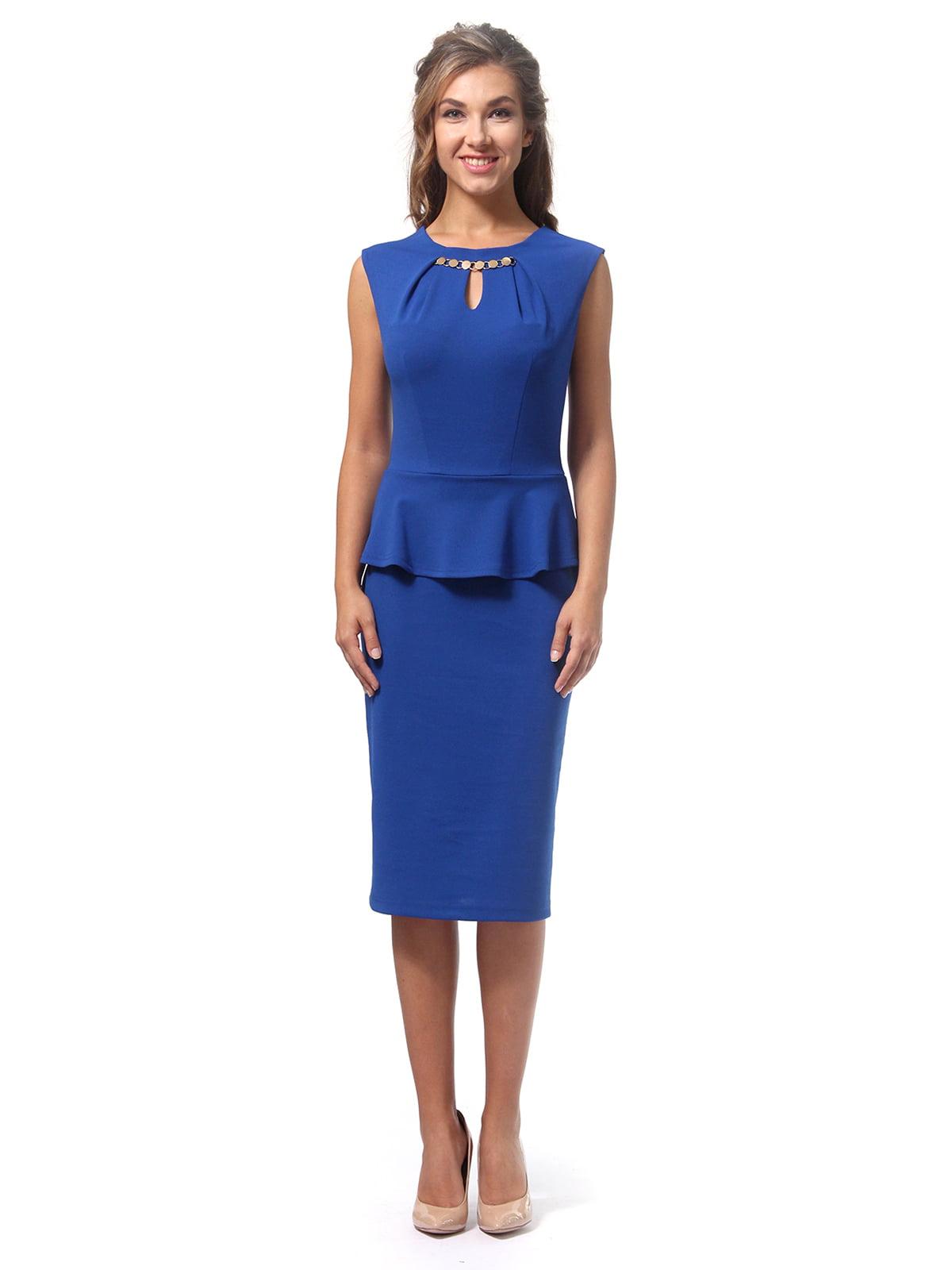 Платье цвета электрик | 4518839 | фото 4