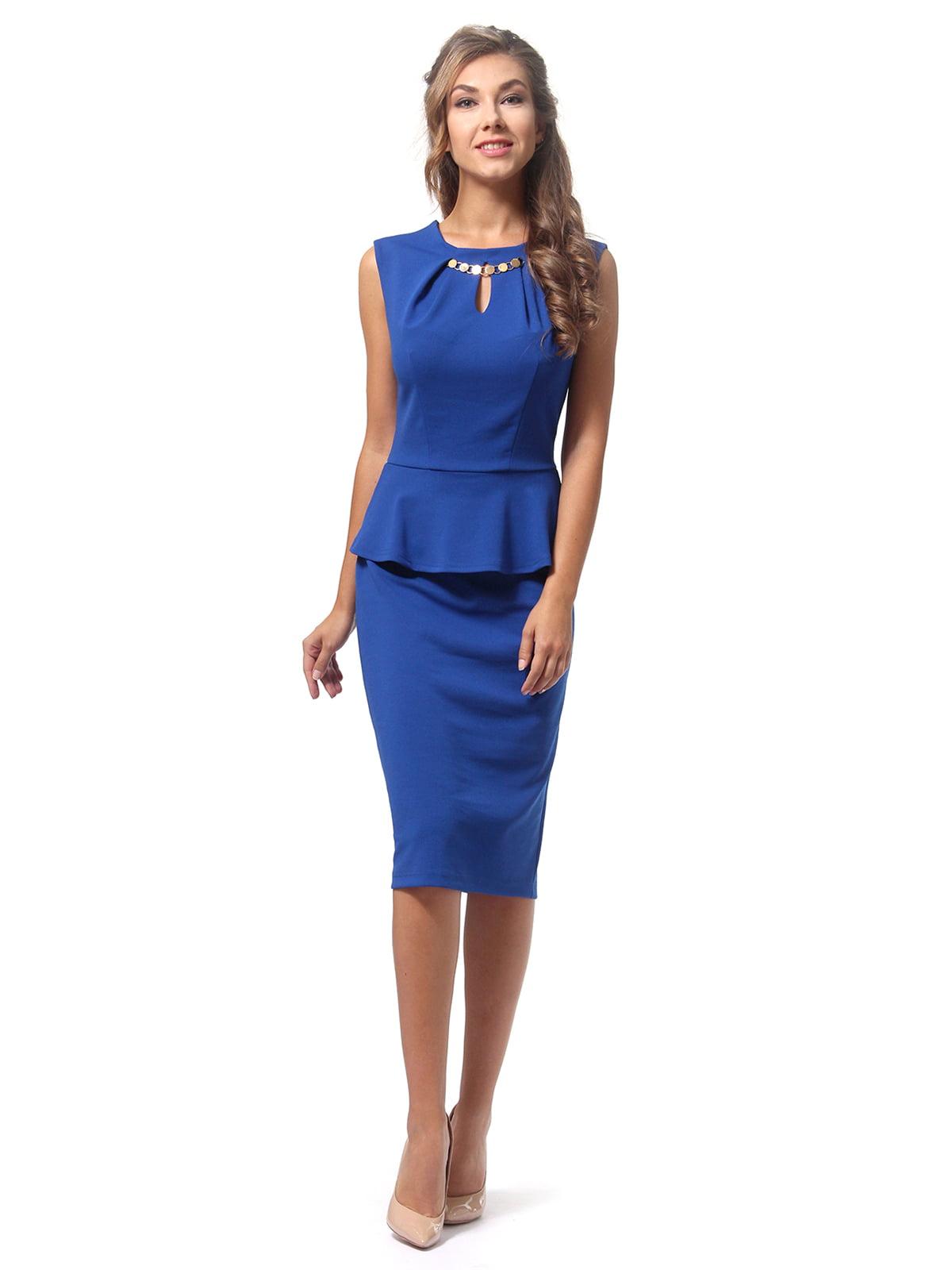 Платье цвета электрик | 4518839